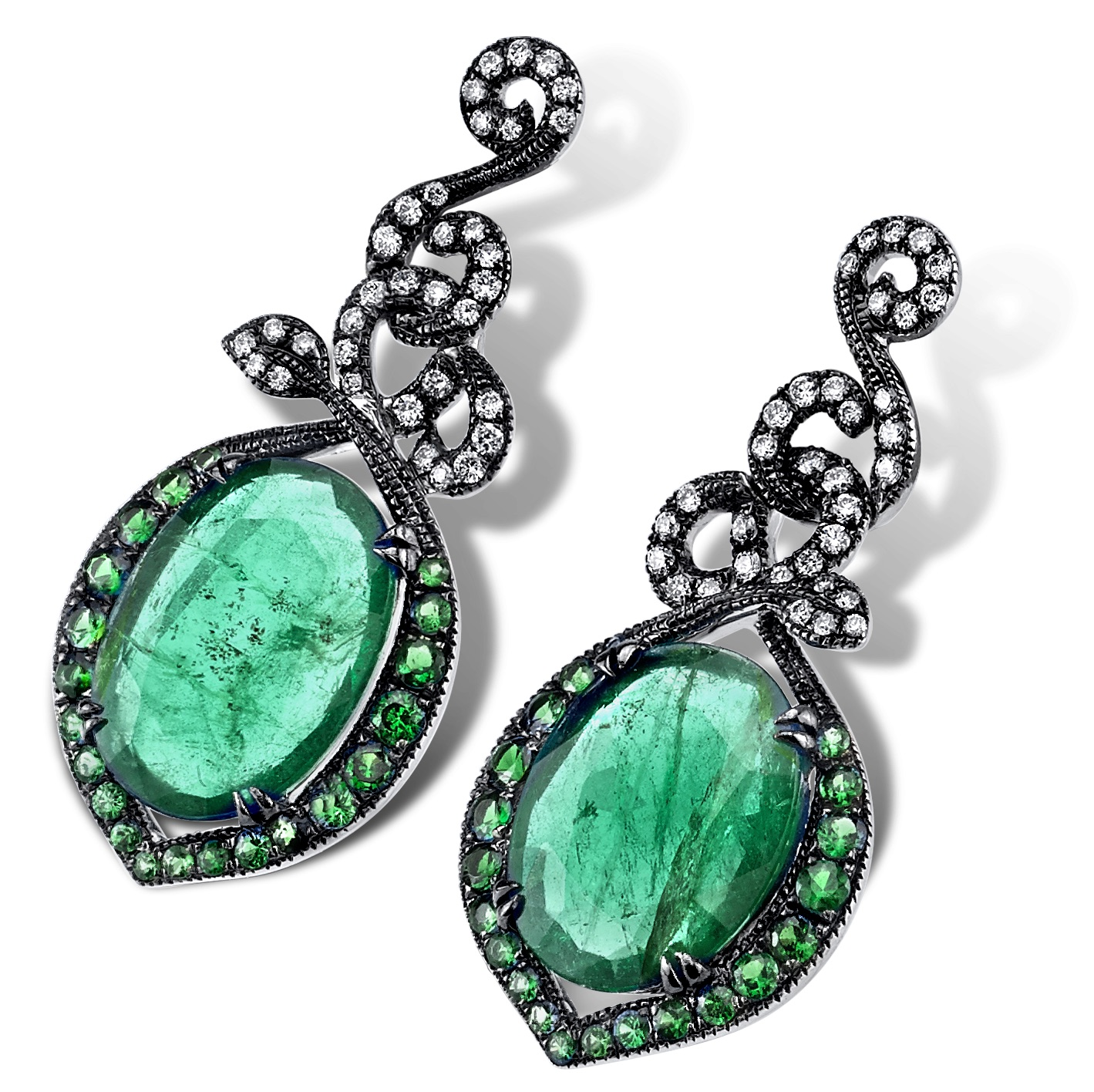 Parade Design emerald slice earrings | JCK On Your Market