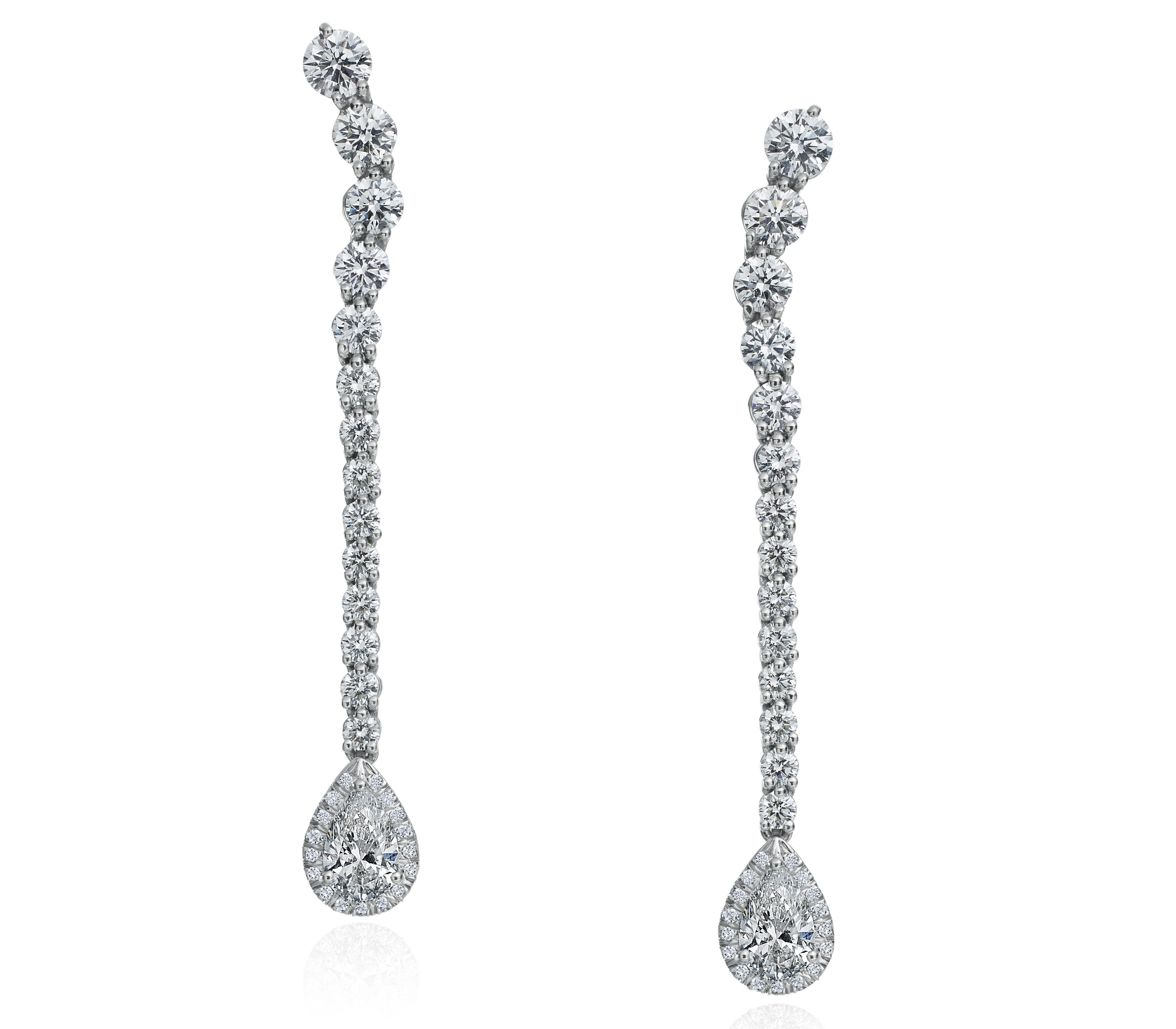 Gumuchian diamond Riviera earrings | JCK On Your Market
