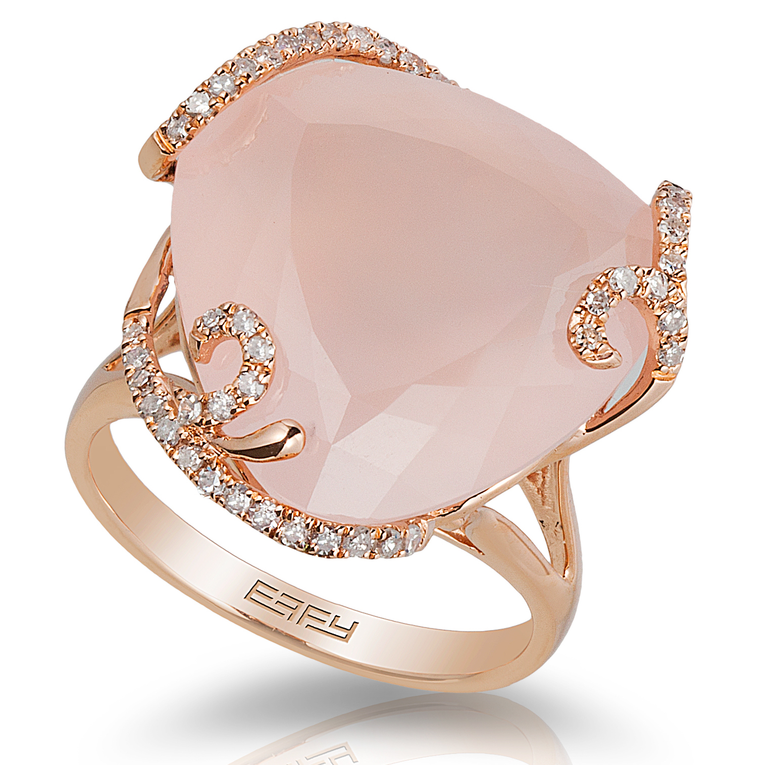Effy rose quartz cocktail ring | JCK On Your Market