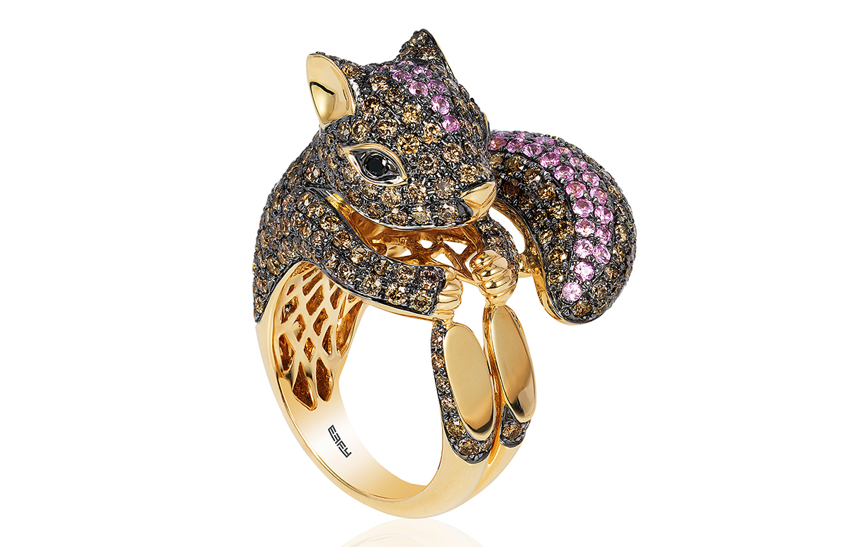 Effy squirrel ring | JCK On Your Market