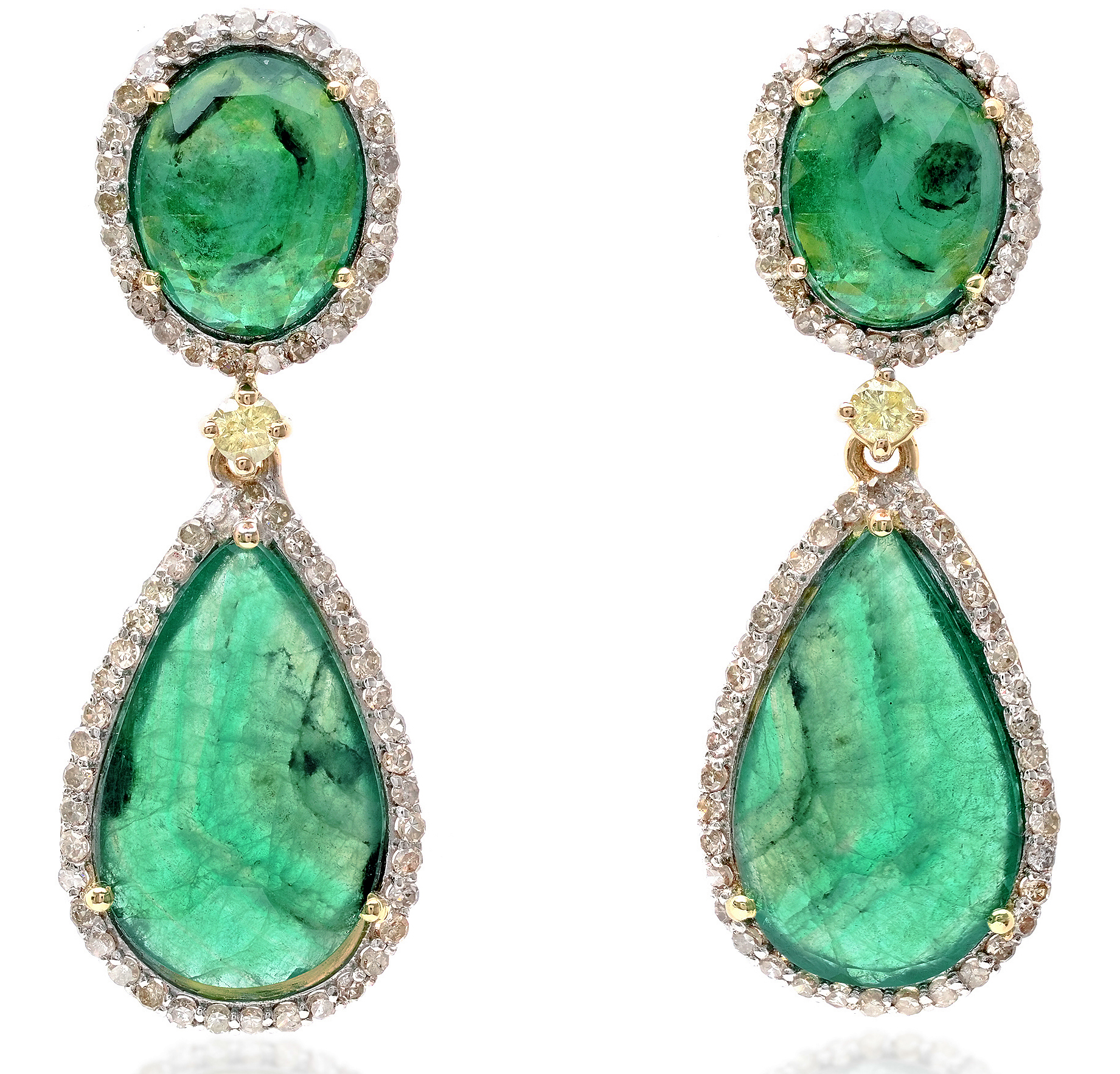 Bavna emerald drop earrings | JCK On Your Market