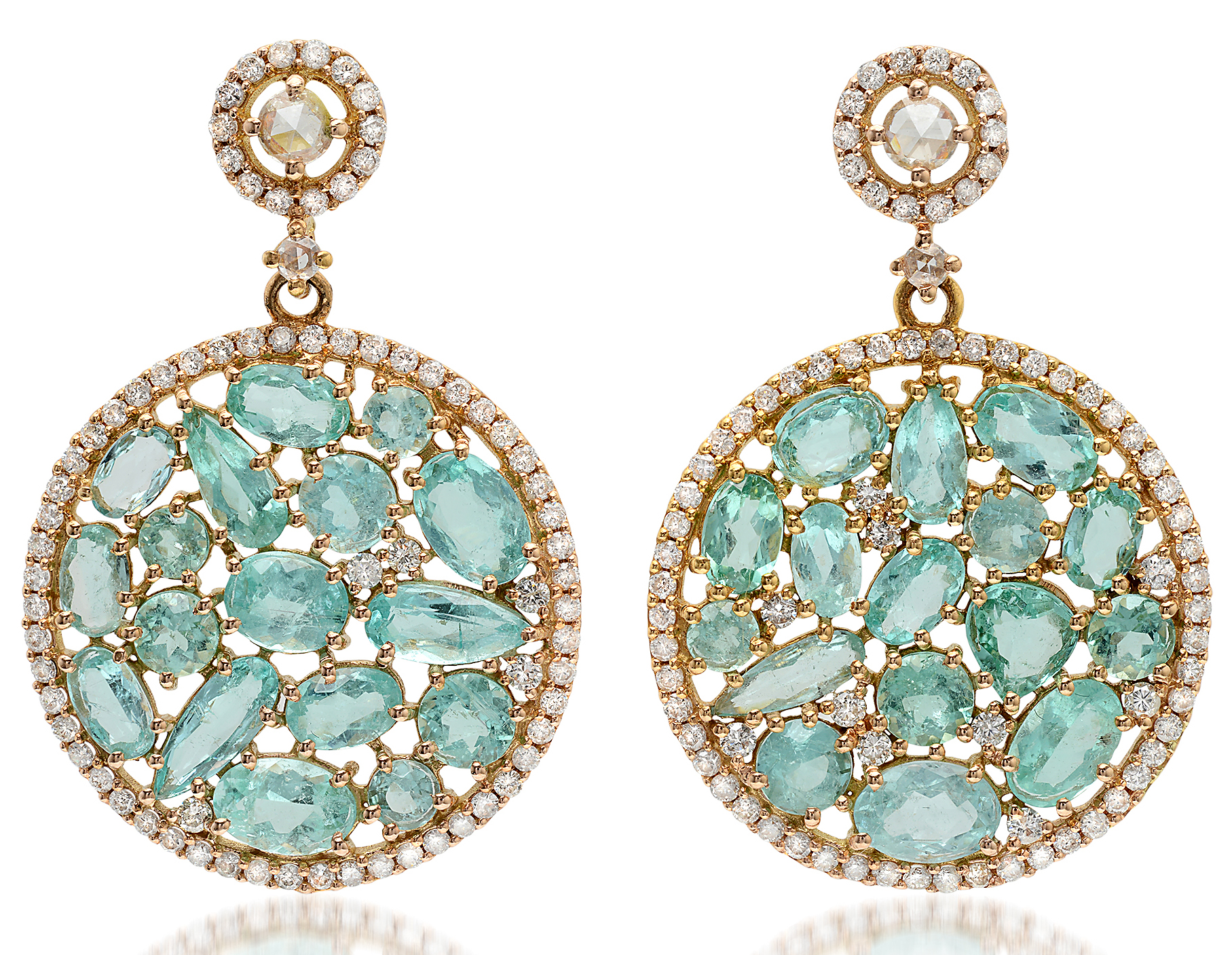 Bavna paraiba Giselle earrings | JCK On Your Market