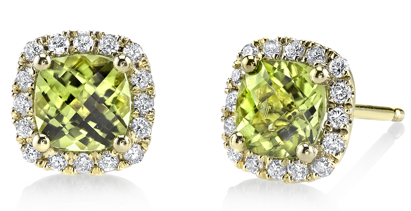 Sylvie Collection peridot stud earrings | JCK On Your Market