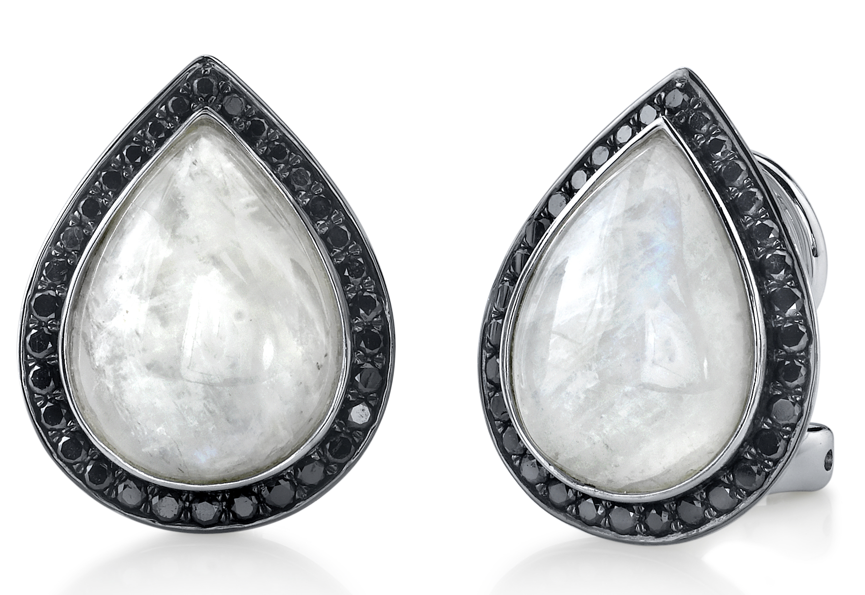 Sylvie Collection moonstone teardrop earrings | JCK On Your Market