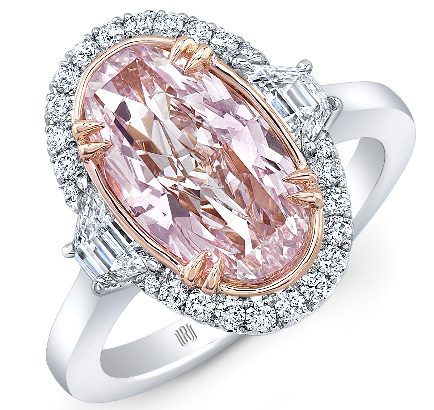 Rahaminov pink diamond ring | JCK On Your Market