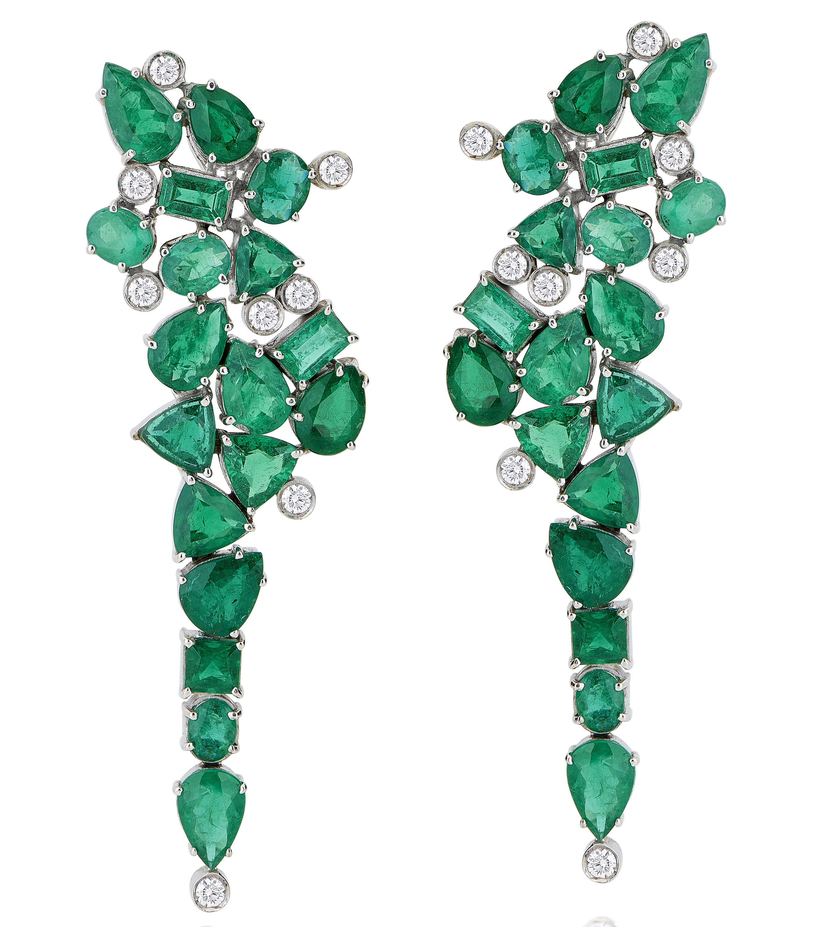 Leticia Linton emerald earrings | JCK On Your Market