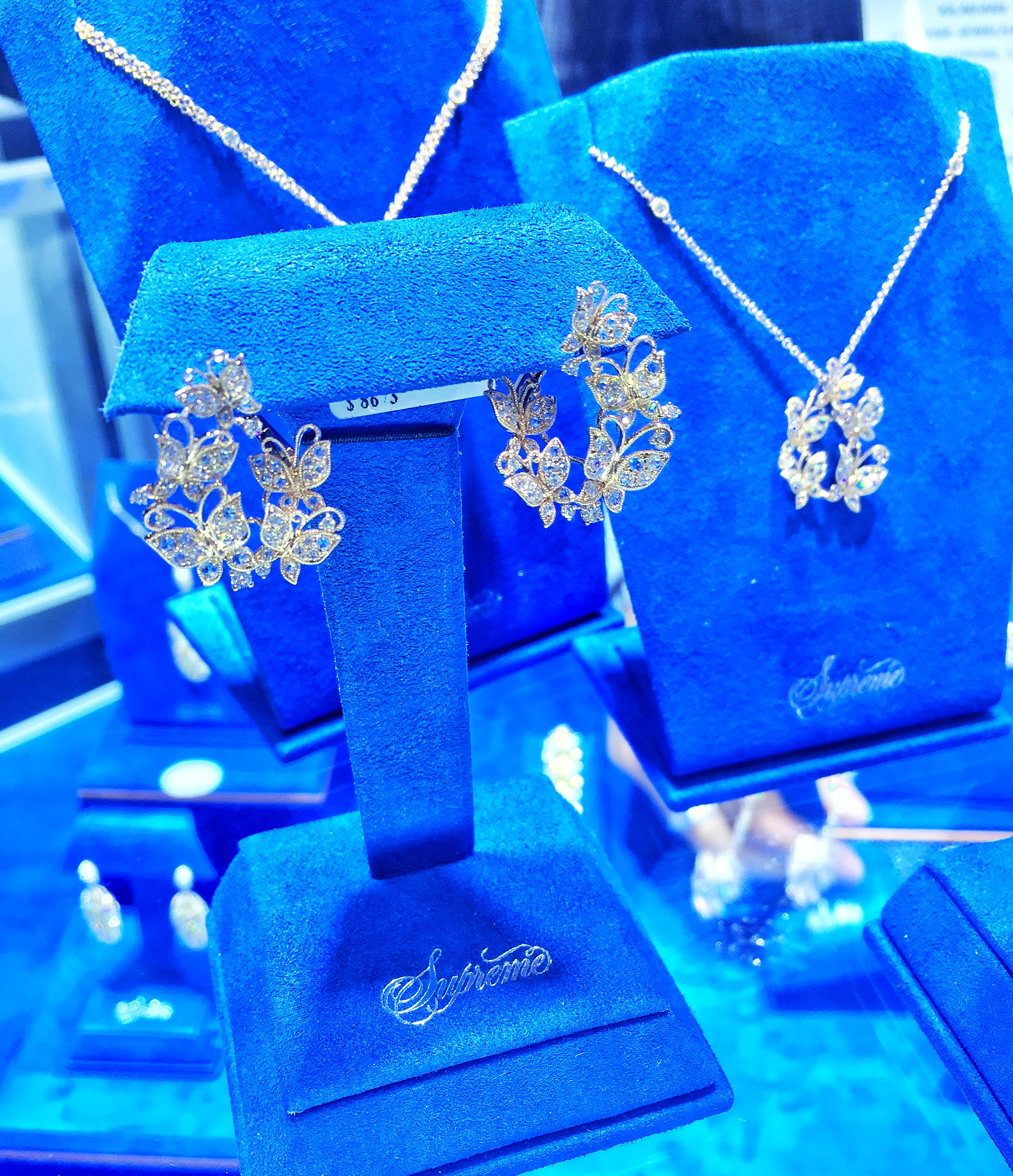 Supreme Jewelry butterfly collection at JCK Las Vegas | JCK On Your Market