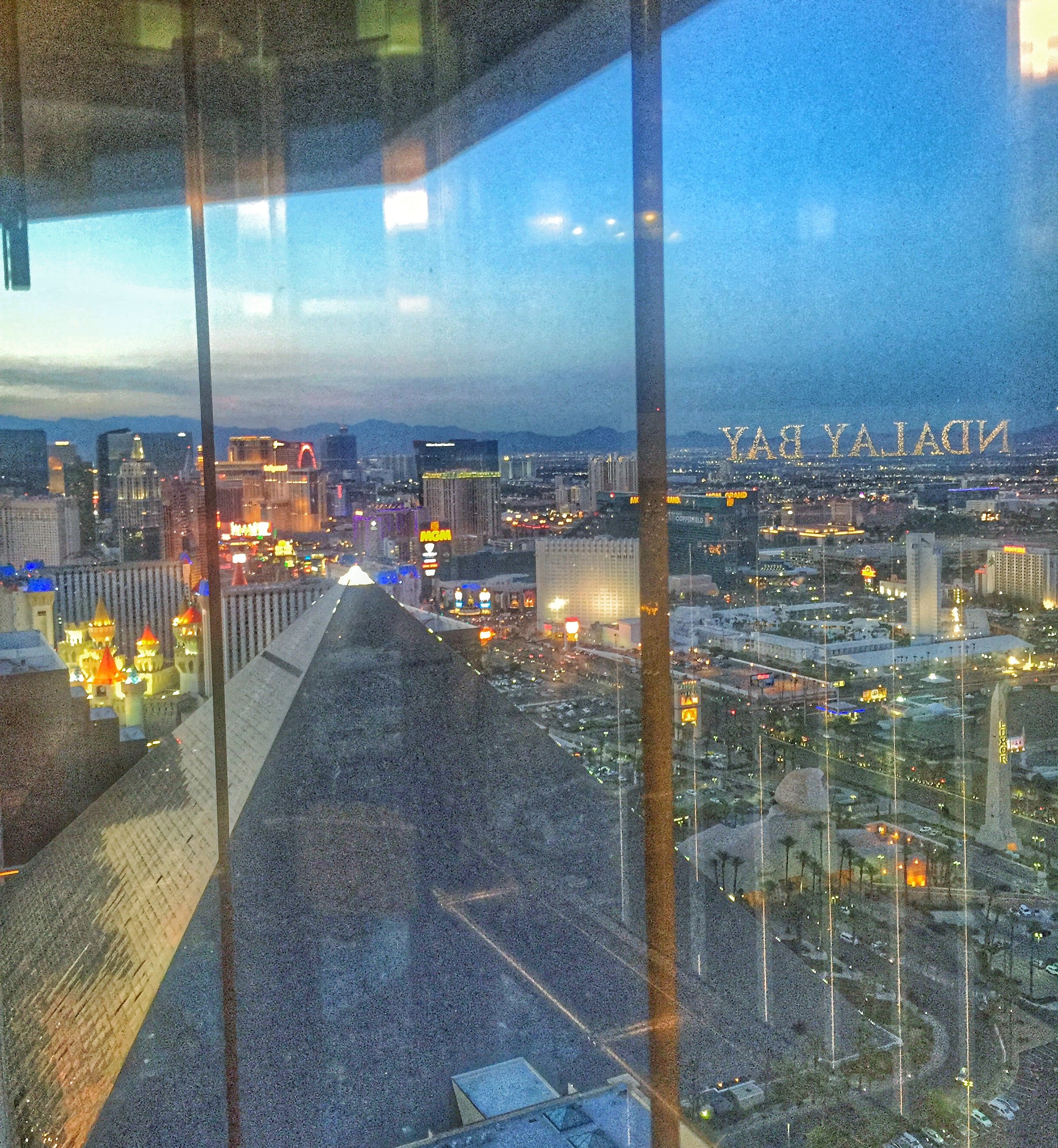 View of Las Vegas from Mandalay Bay | JCK On Your Market