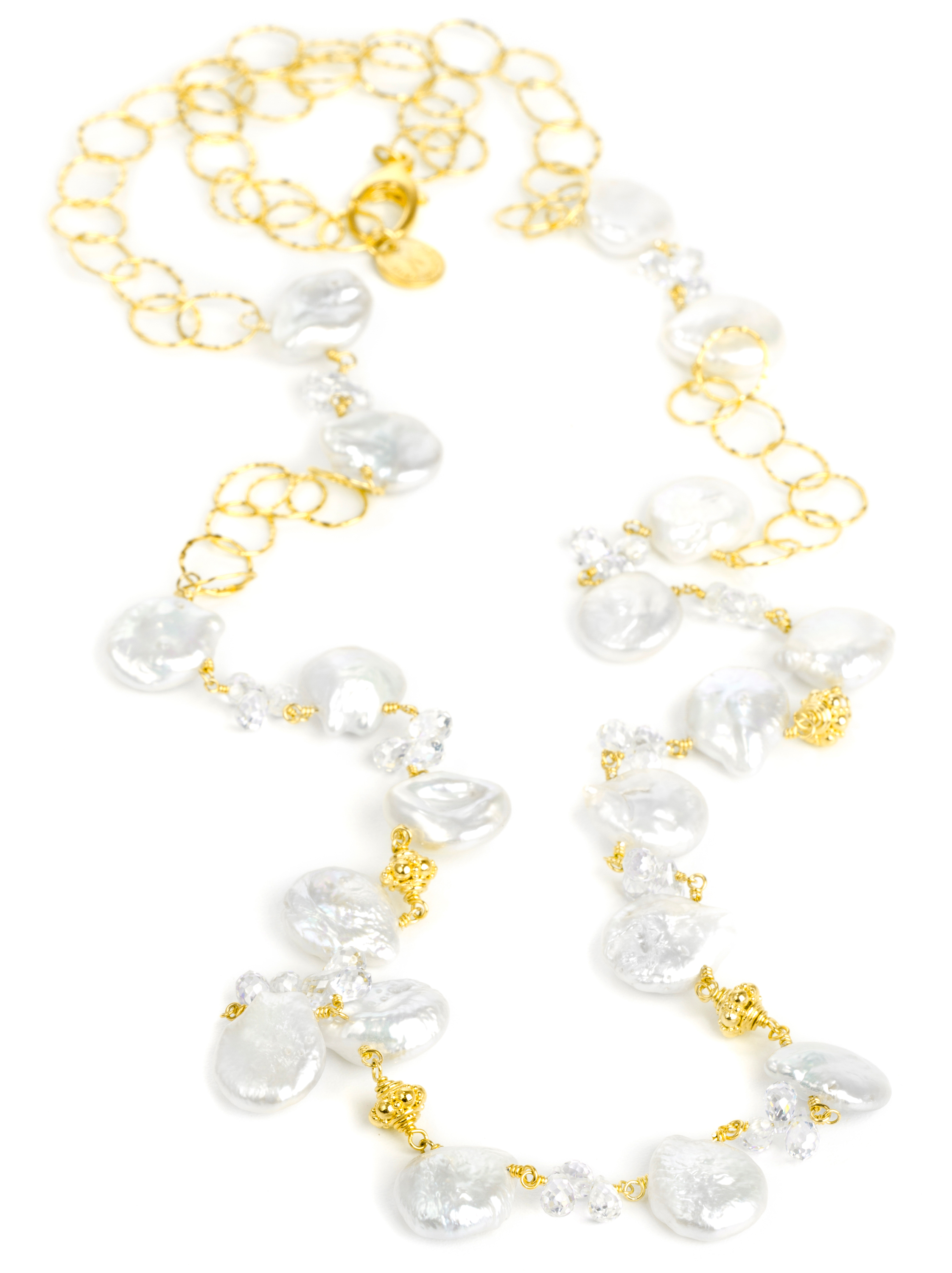 Nina Nguyen Melody pearl necklace | JCK On Your Market
