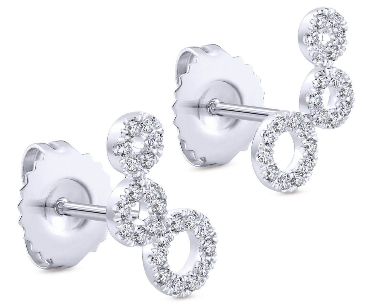Gabriel and Co. Comets stud earrings | JCK On Your Market