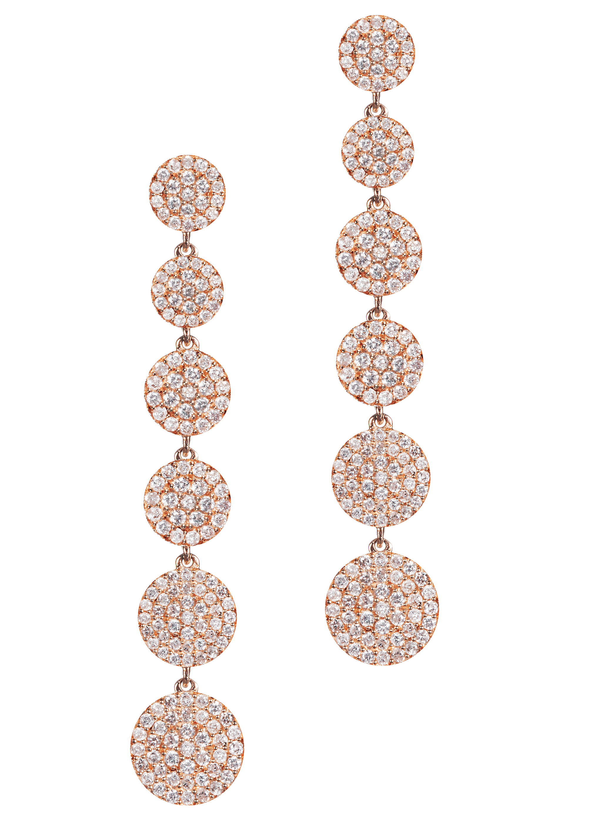 Graziela Gems Diamond Cascade earrings | JCK On Your Market
