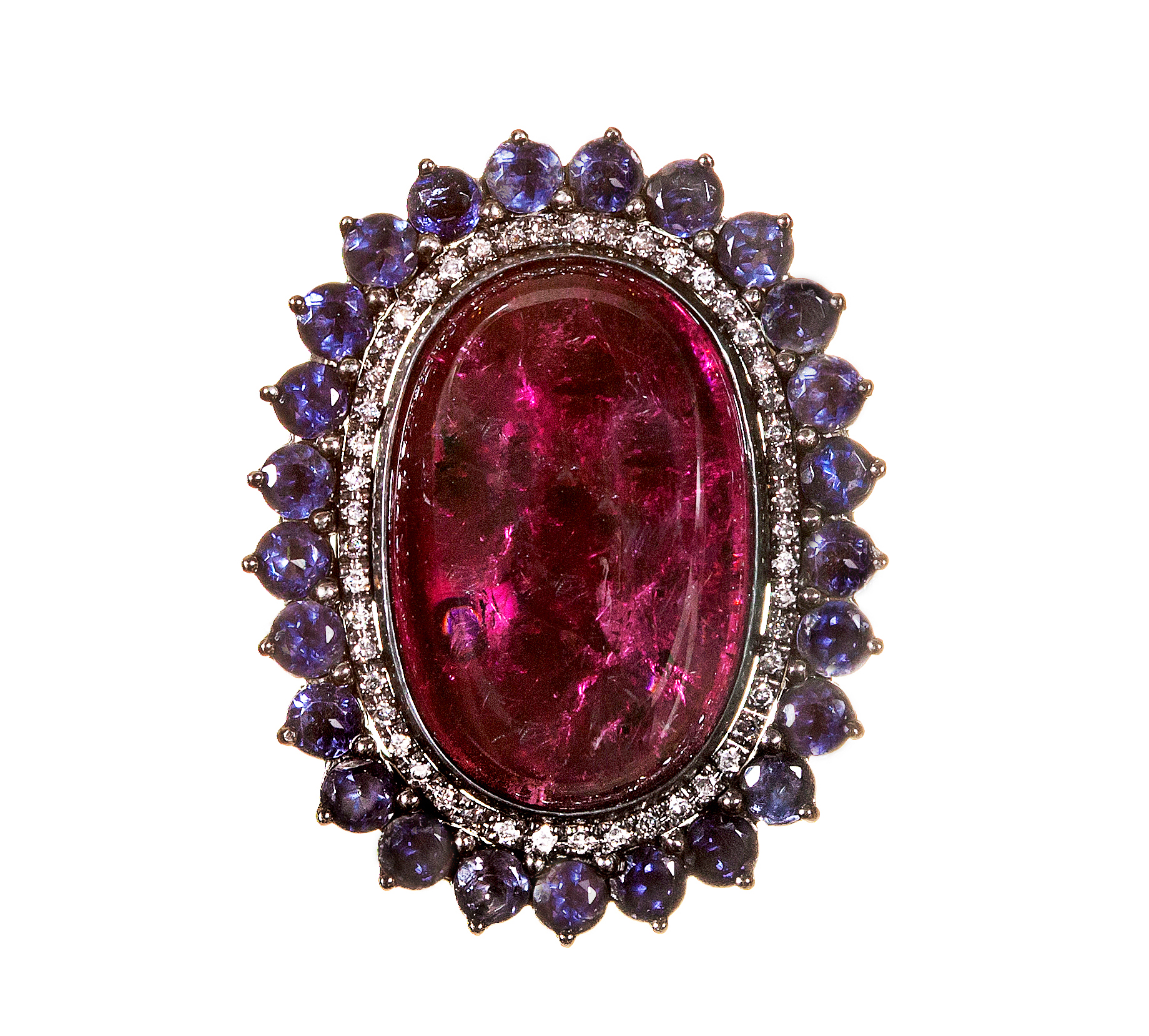 Graziela Gems rubellite Sky ring | JCK On Your Market
