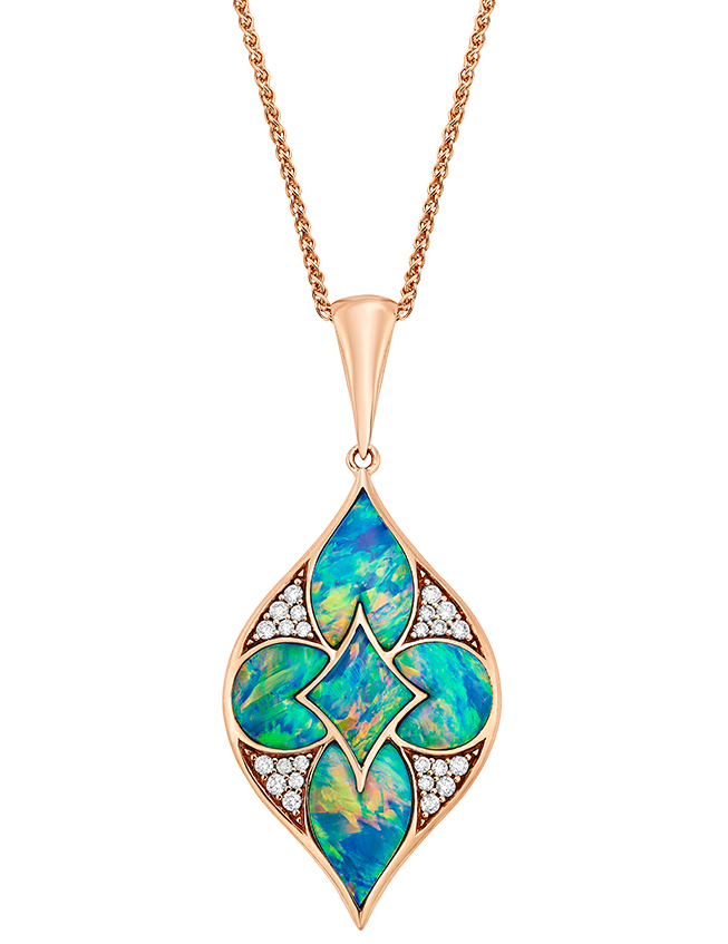 Kabana Lumieré collection opal pendant | JCK On Your Market