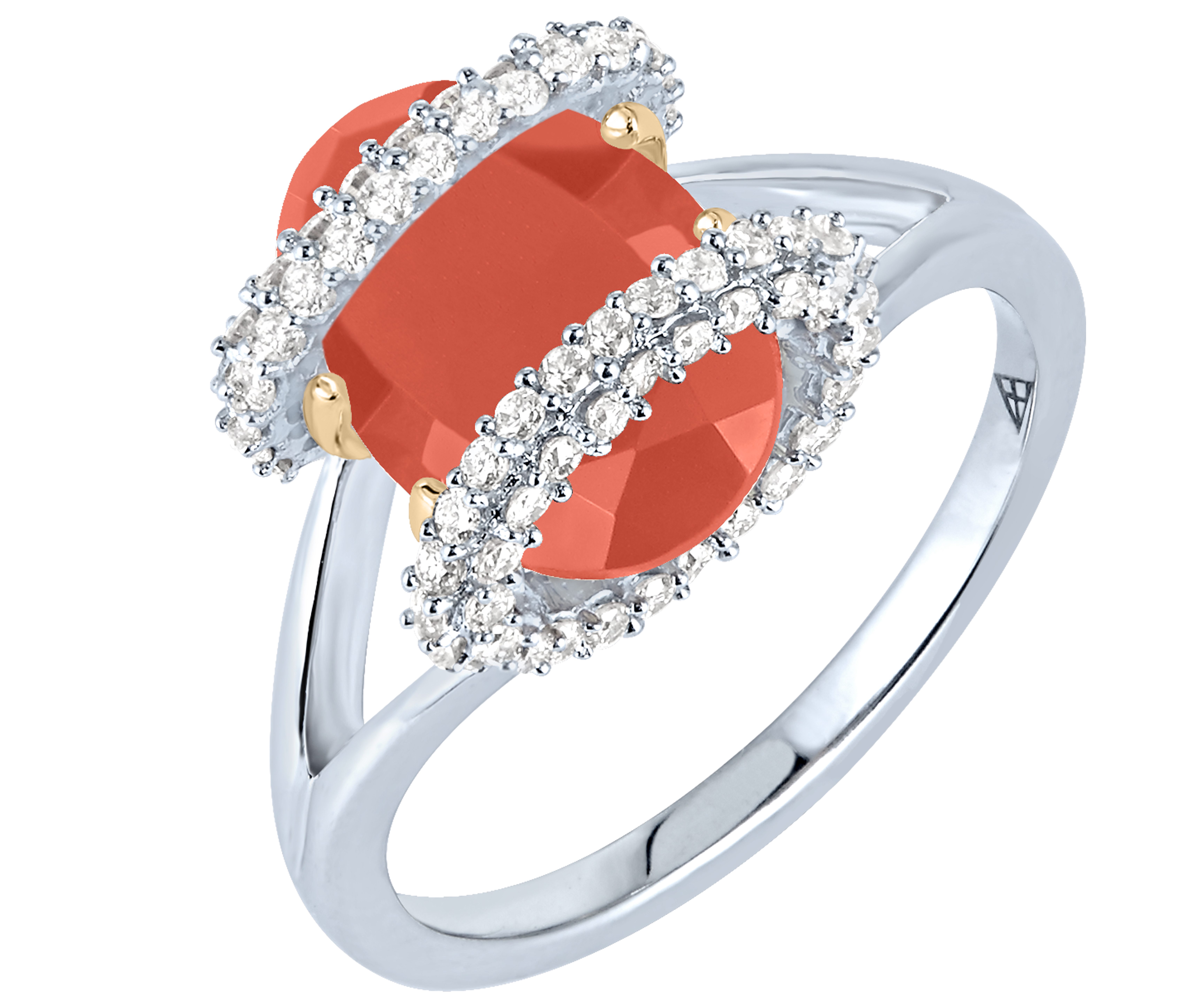 Arya Esha Galaxy collection carnelian ring | JCK On Your Market