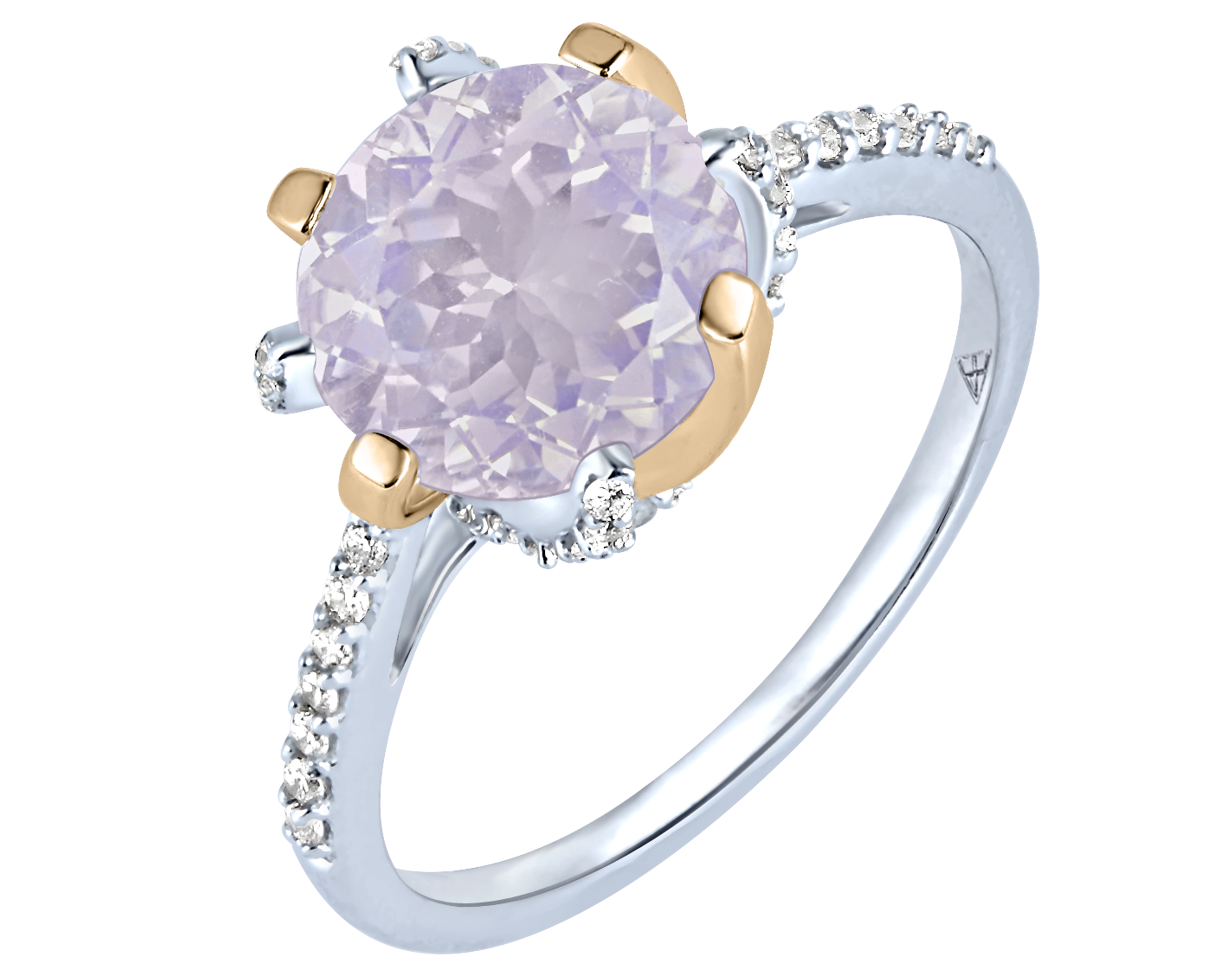 Arya Esha Galaxy collection lavender moonstone ring | JCK On Your Market