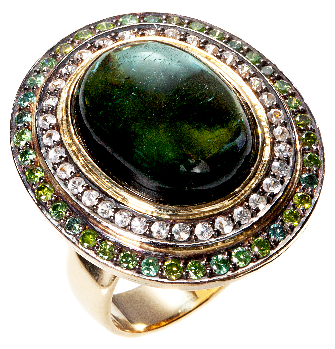 Graziela Gems Green Goddess ring | JCK On Your Market