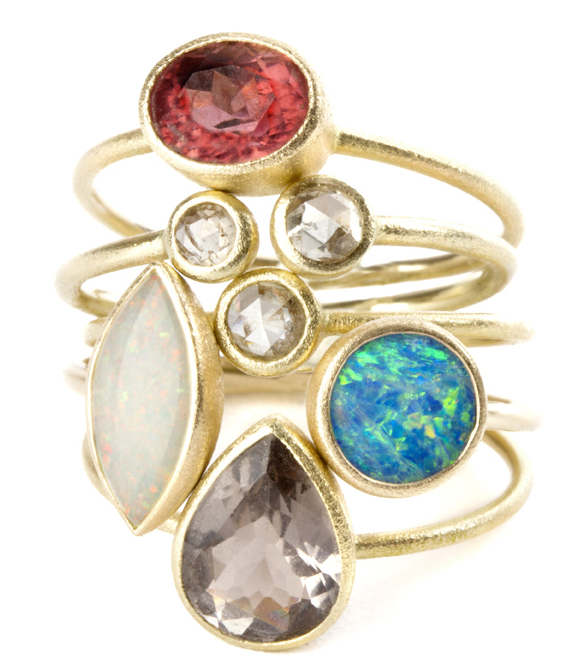 Nina Nguyen Heritage ring collection | JCK On Your Market