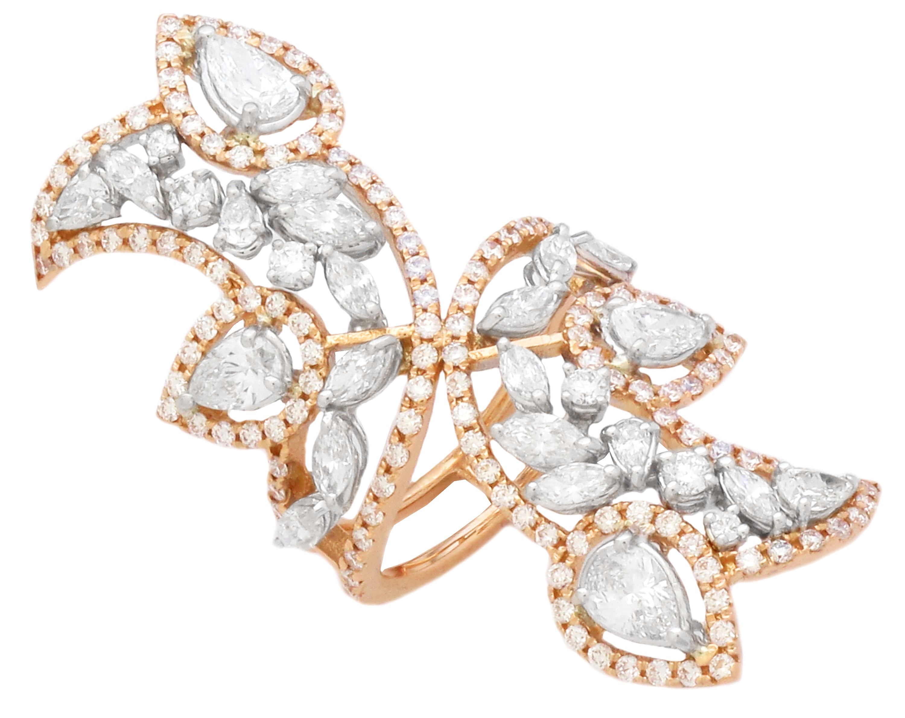 Daviani diamond vine ring | JCK On Your Market
