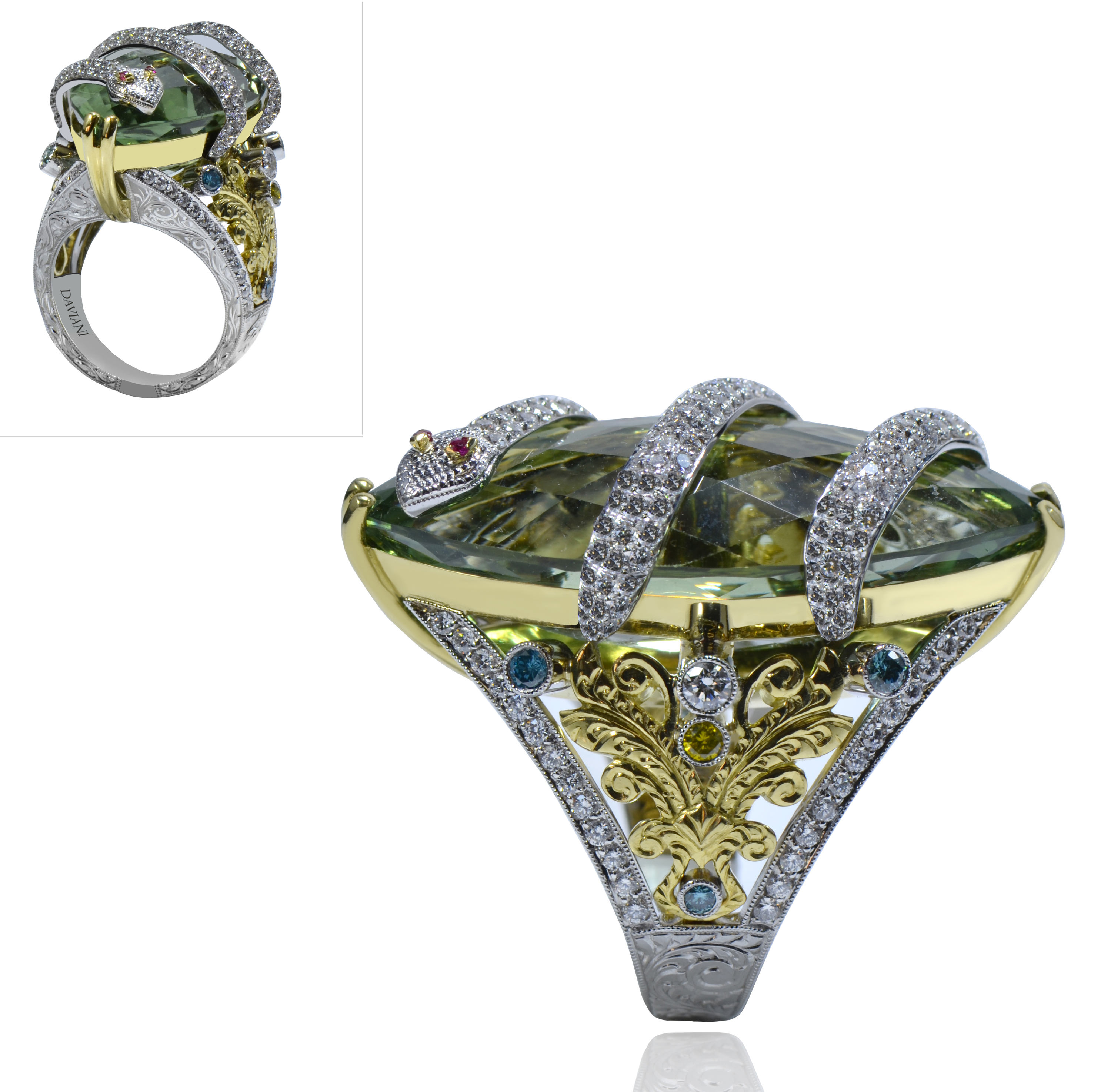 Daviani snake cocktail ring | JCK On Your Market