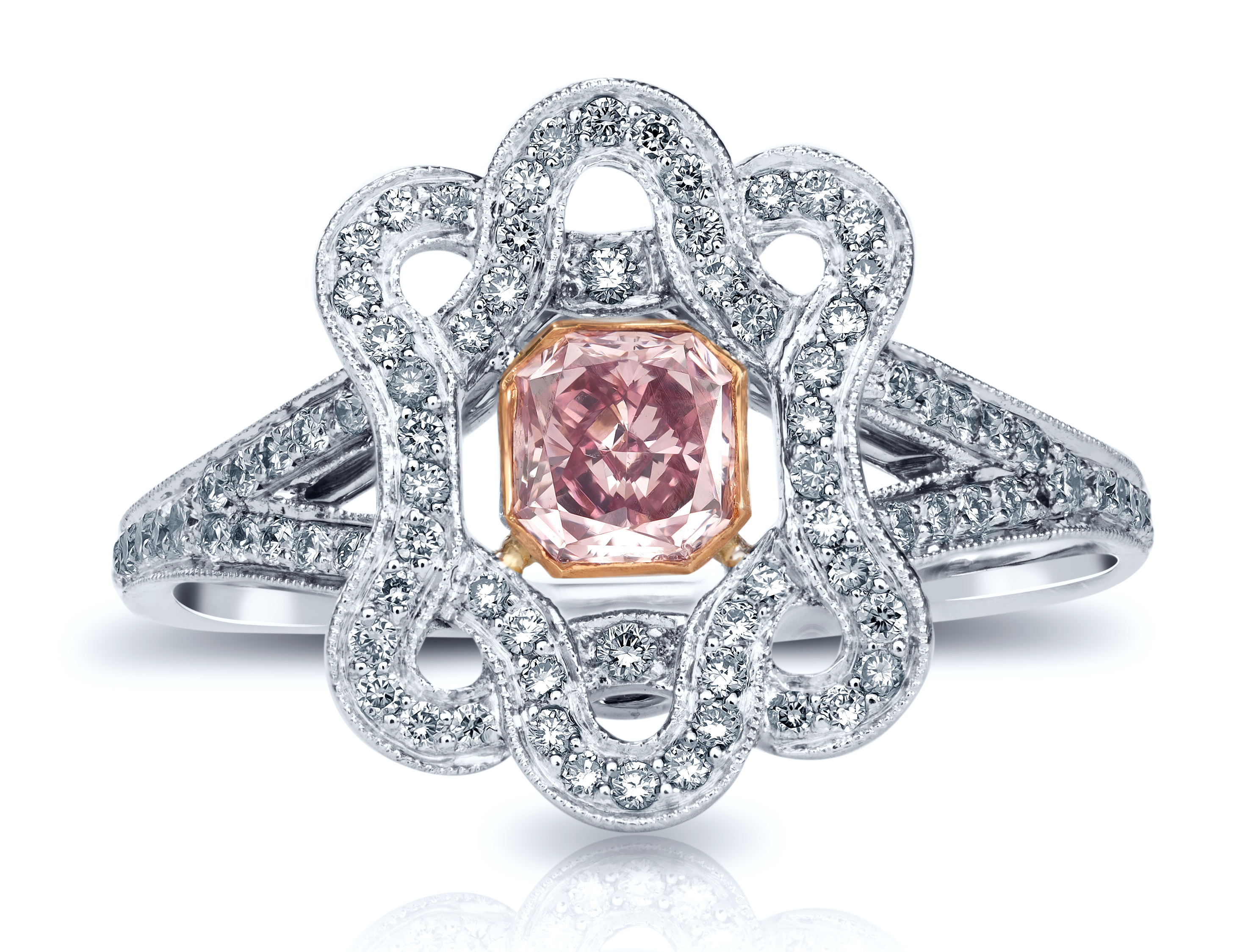 VTse pink diamond ring | JCK On Your Market