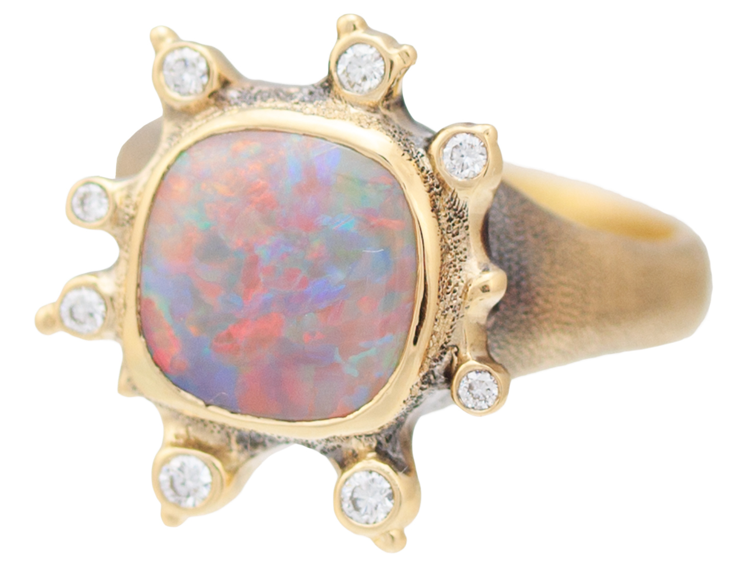Audrius Krulis opal ring| JCK On Your Market