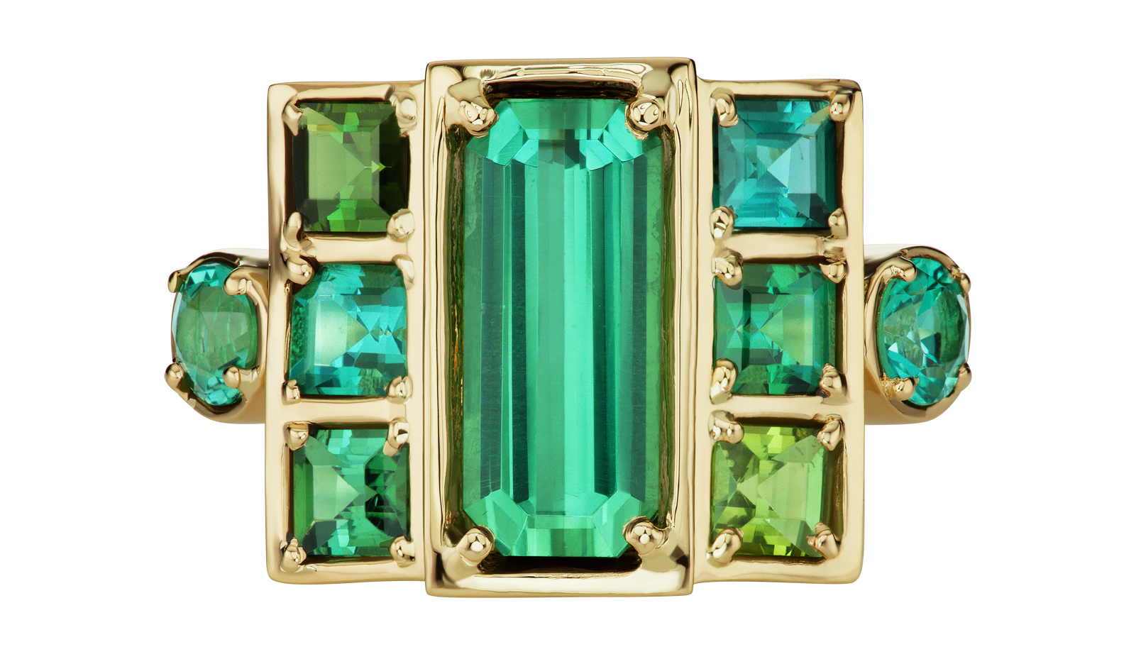 Jane Taylor green Cloud ring | JCK On Your Market
