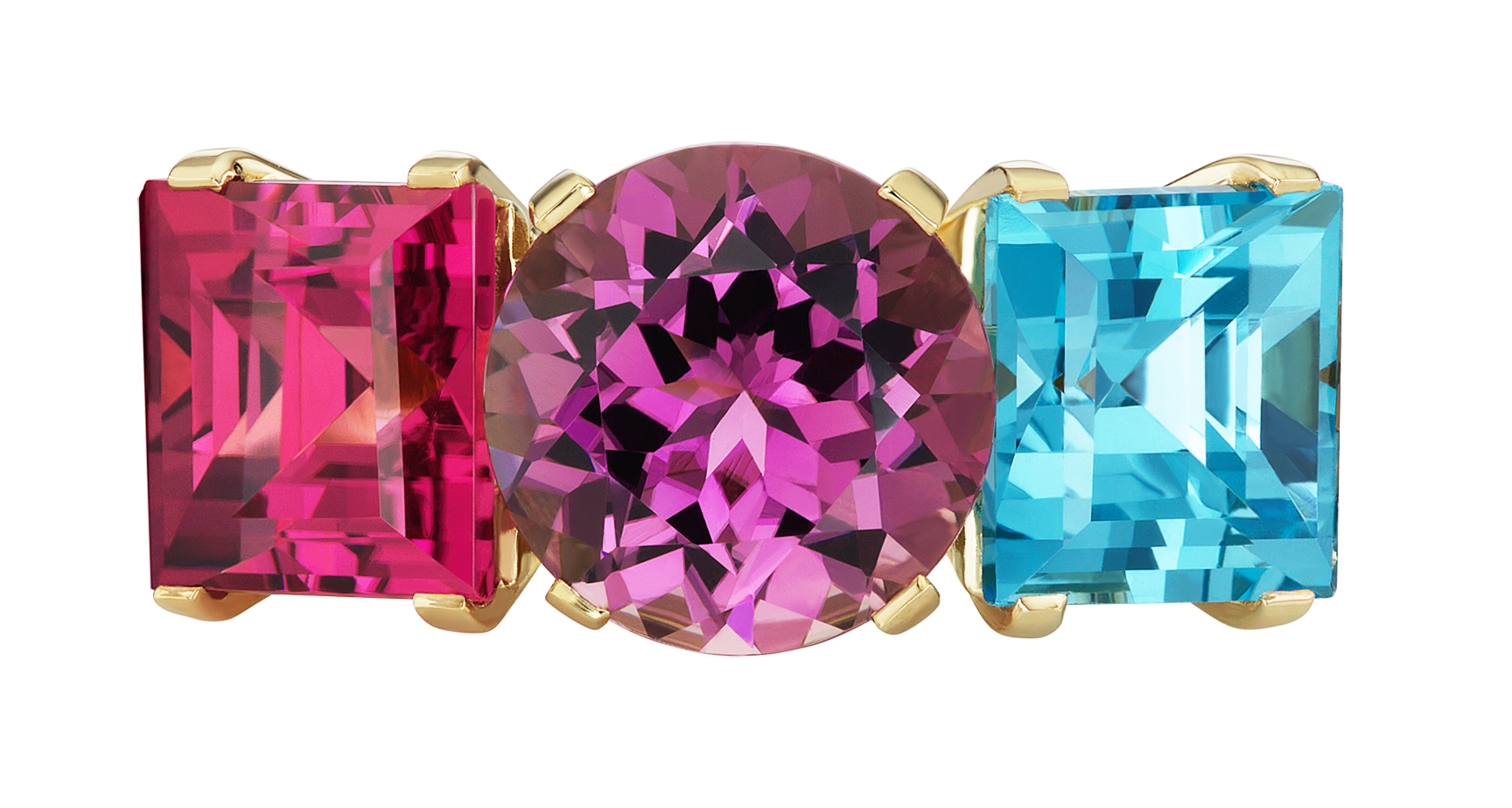 Jane Taylor tourmaline and topaz FIreworks ring | JCK On Your Market