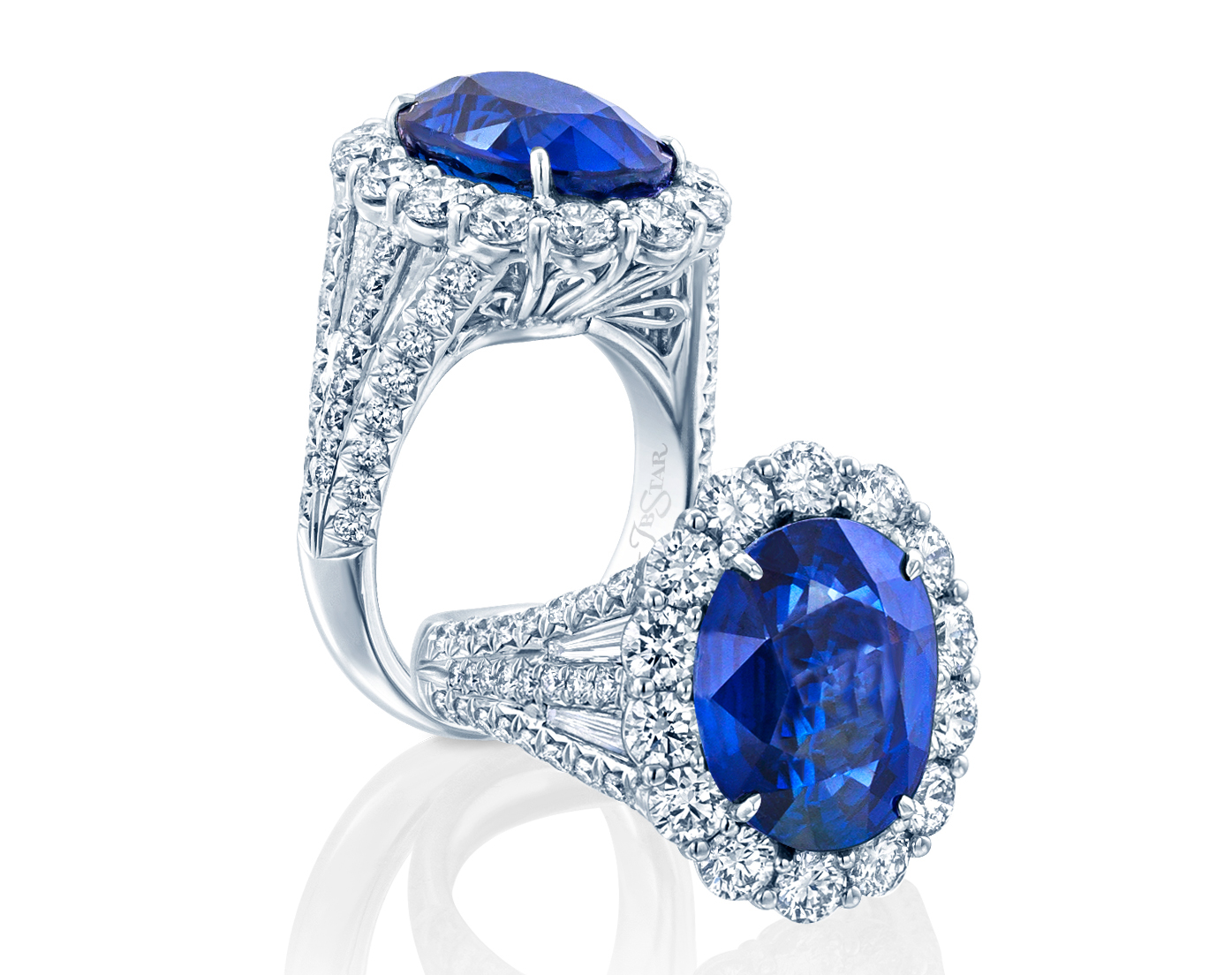 JB Star Gubelin sapphire and diamond ring | JCK On Your Market