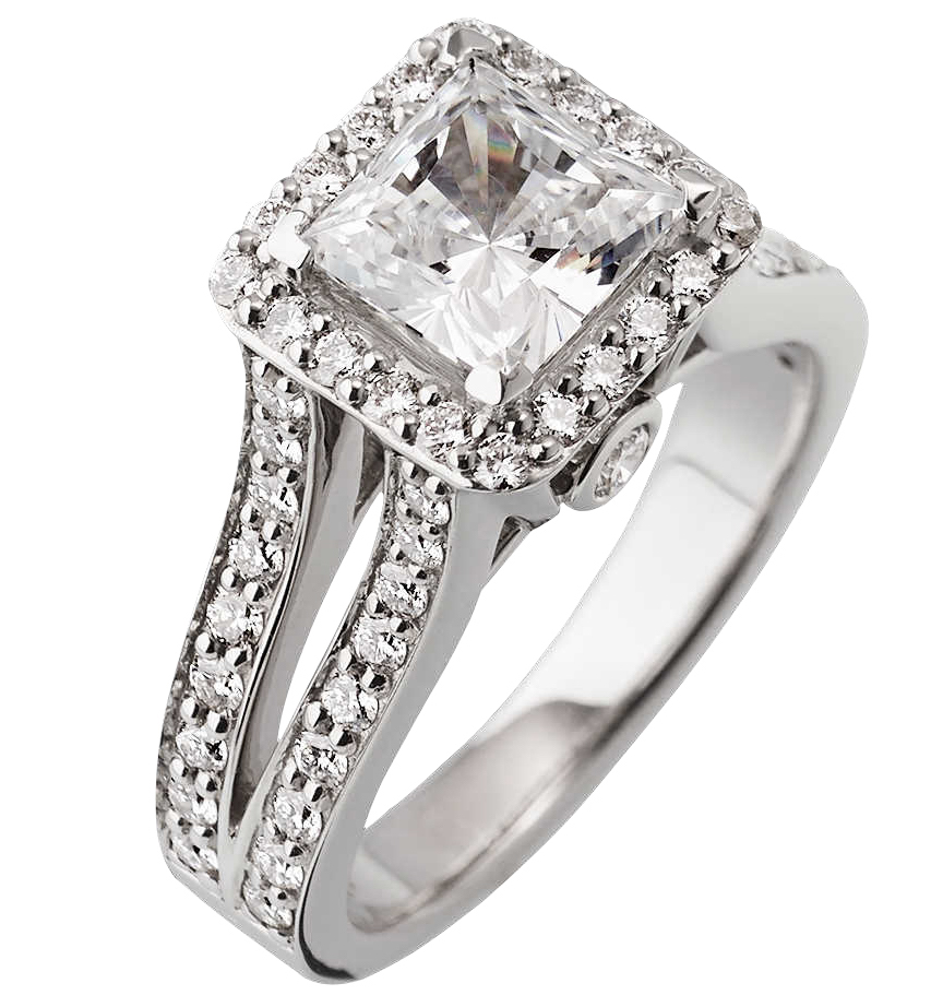 John Atencio Chiffon engagement ring | JCK On Your Market