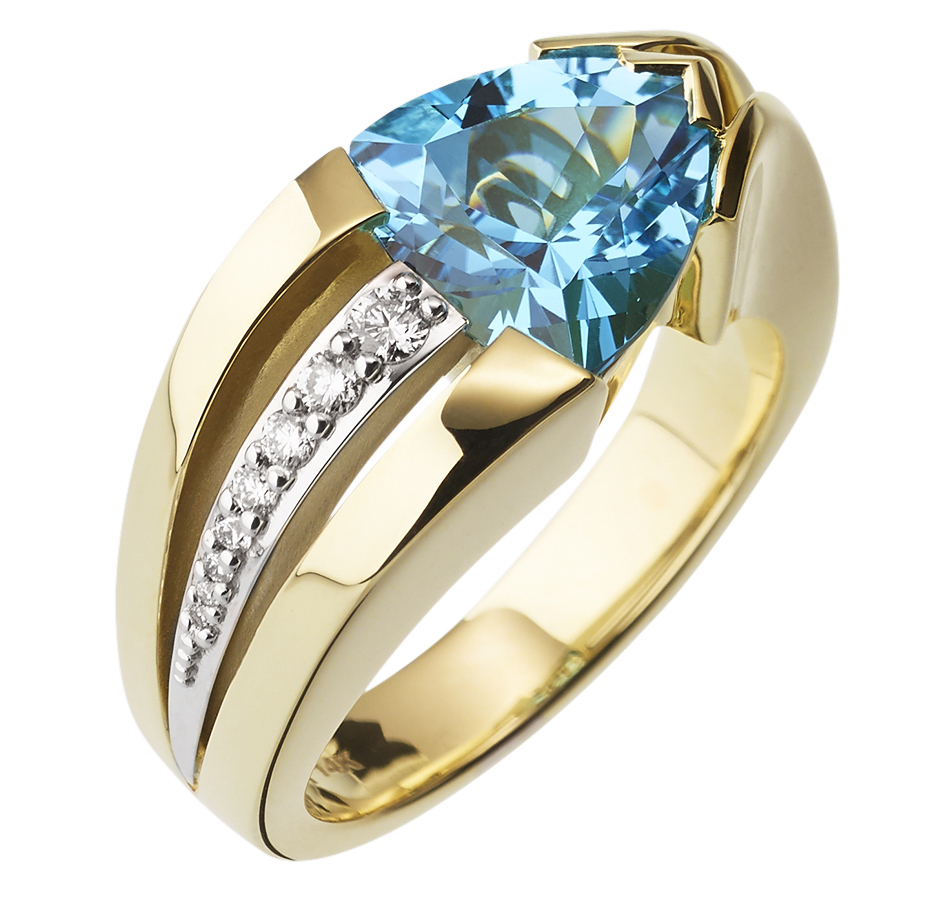 John Atencio Jubilee blue topaz ring | JCK On Your Market
