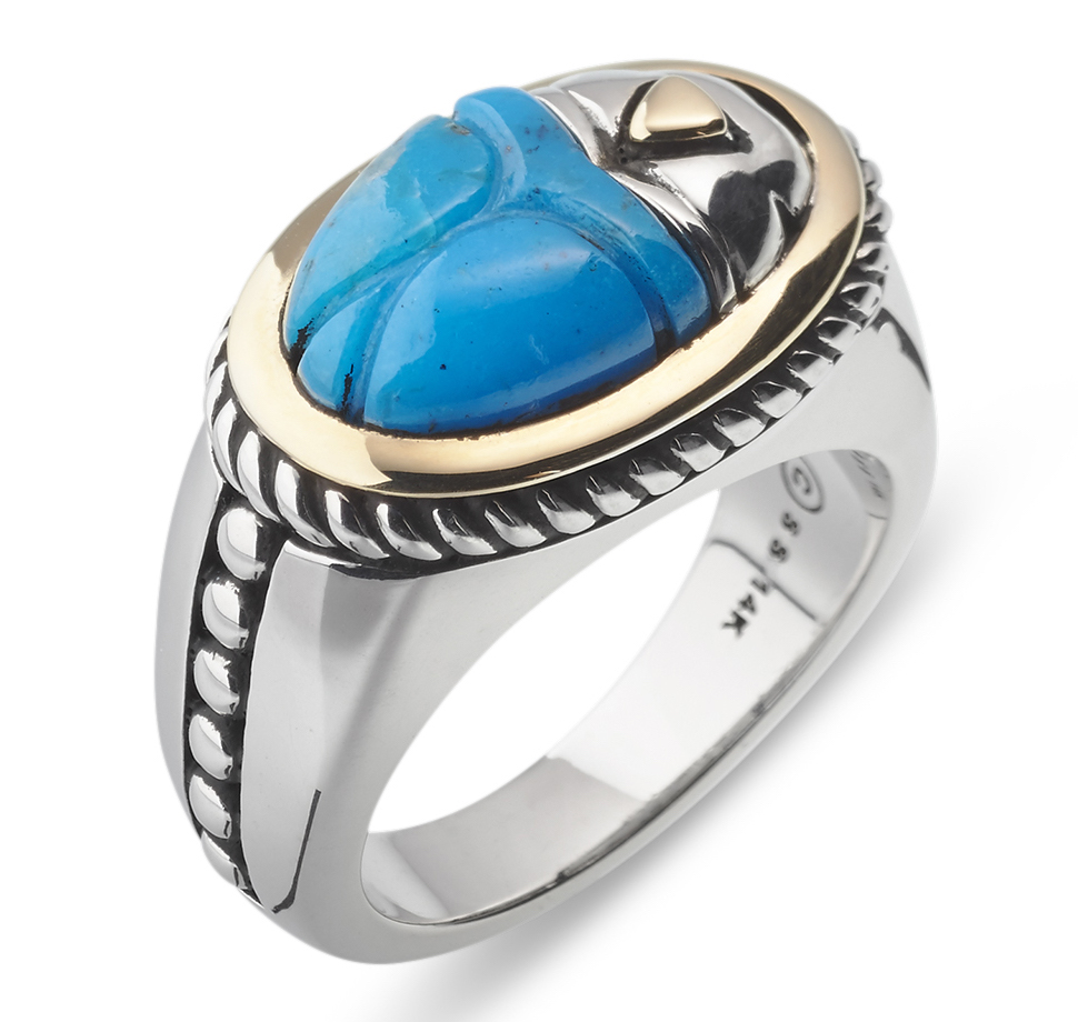 John Atencio Pharaoh turquoise ring | JCK On Your Market