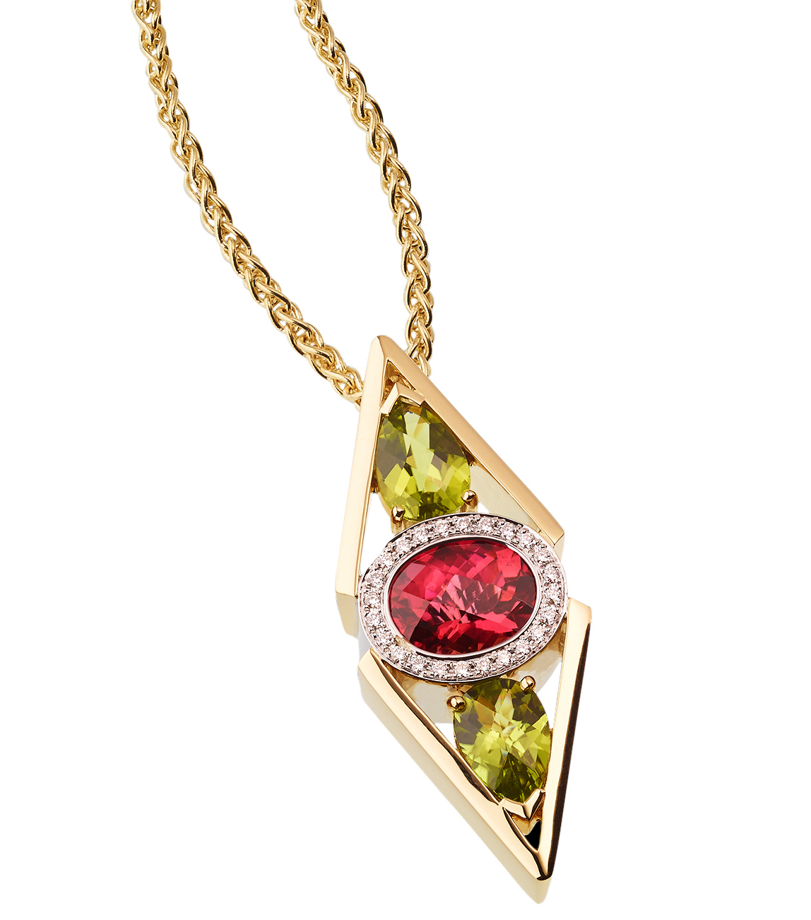 John Atencio Signature tourmaline pendant | JCK On Your Market
