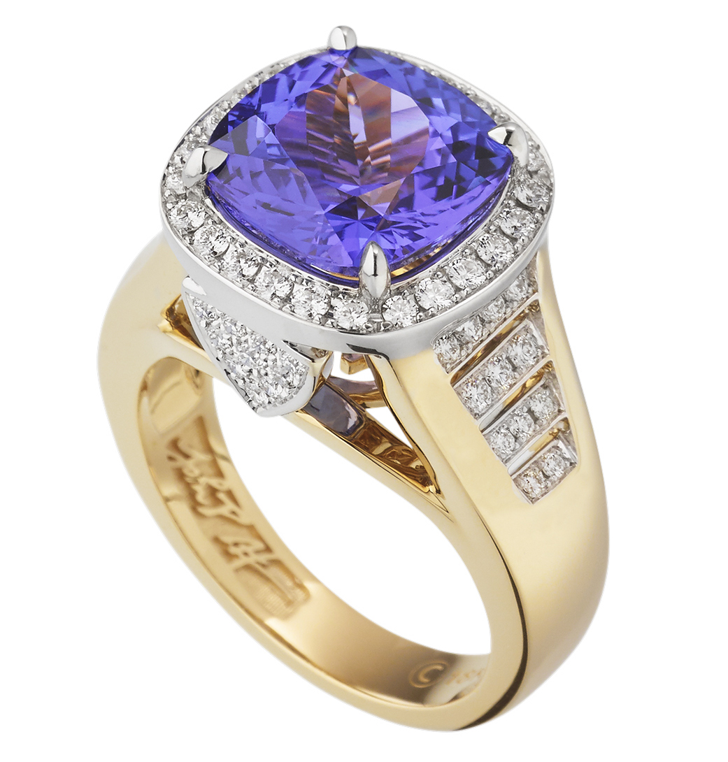 John Atencio Signature tanzanite ring | JCK On Your Market