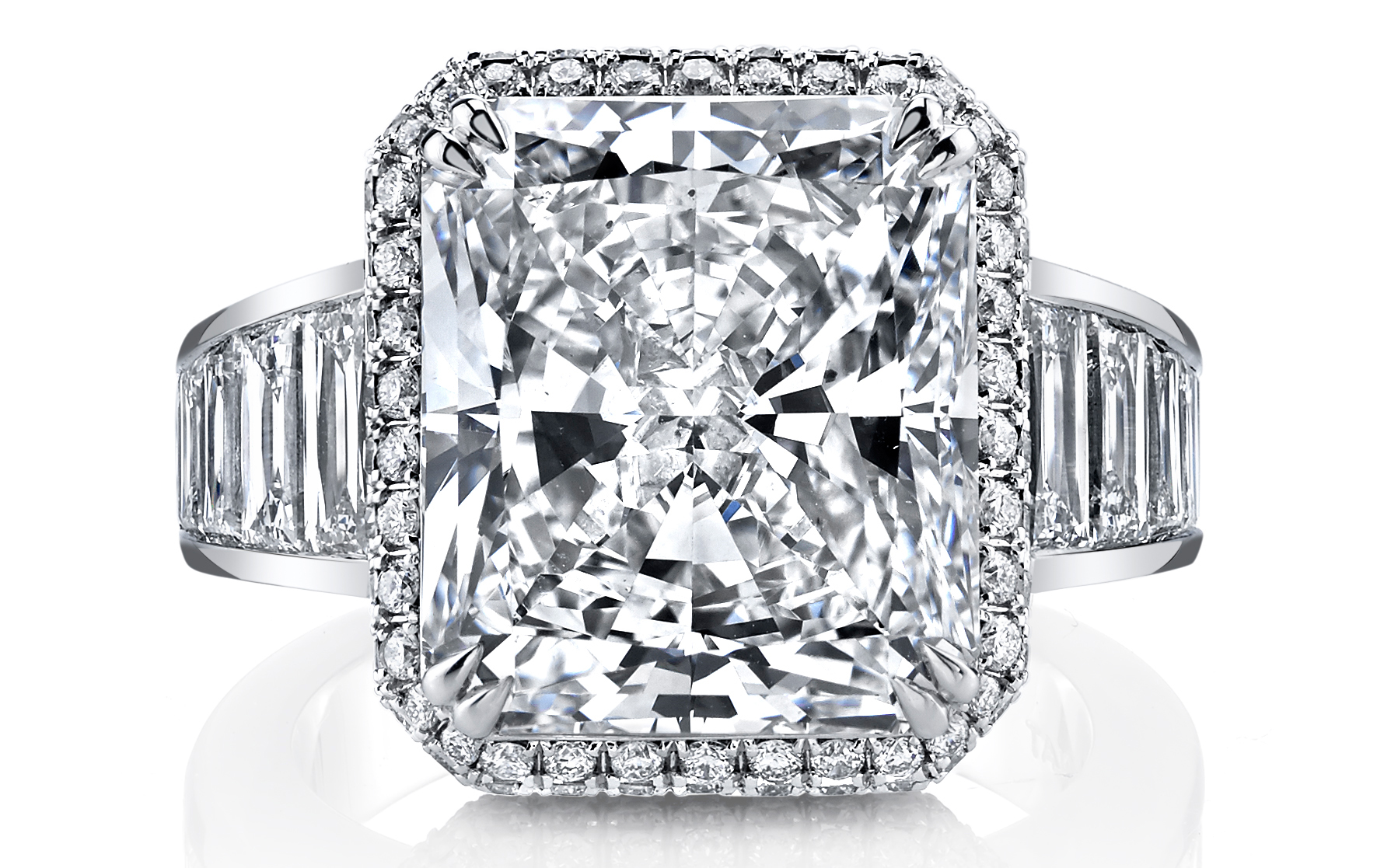 Joshua J 10.43 ct. radiant-cut diamond ring | JCK On Your Market
