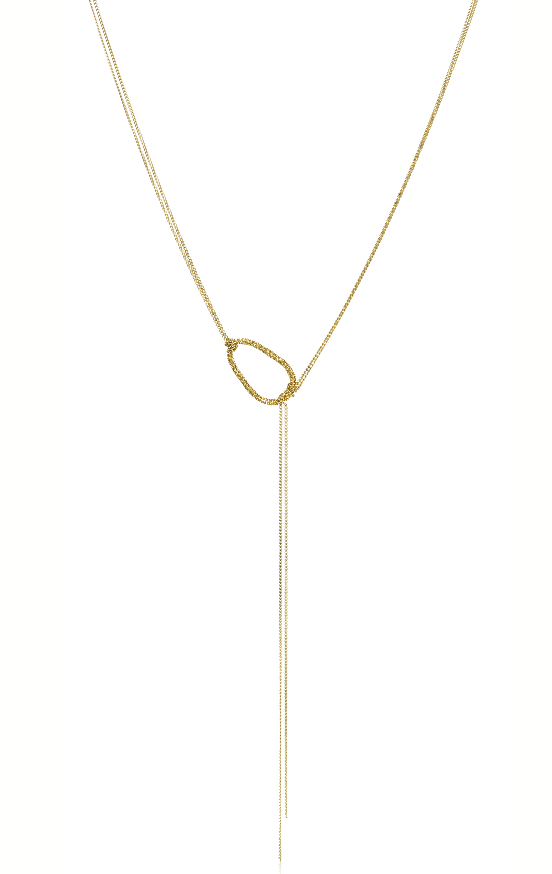 Amali Jewelry knotted lariat necklace | JCK On Your Market