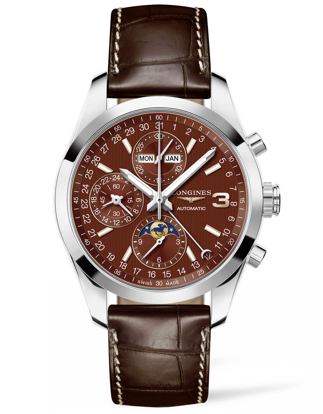 Longines Triple Crown Series watch #BRITTSPICK | JCK On Your Market
