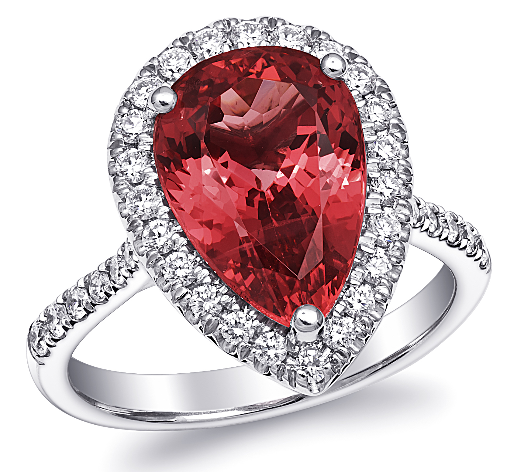 Coast Diamond spinel pear ring | JCK On Your Market