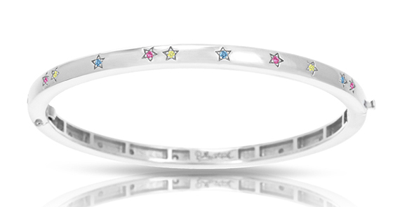 Belle Etoile Little Stars pastel bangle bracelet | JCK On Your Market