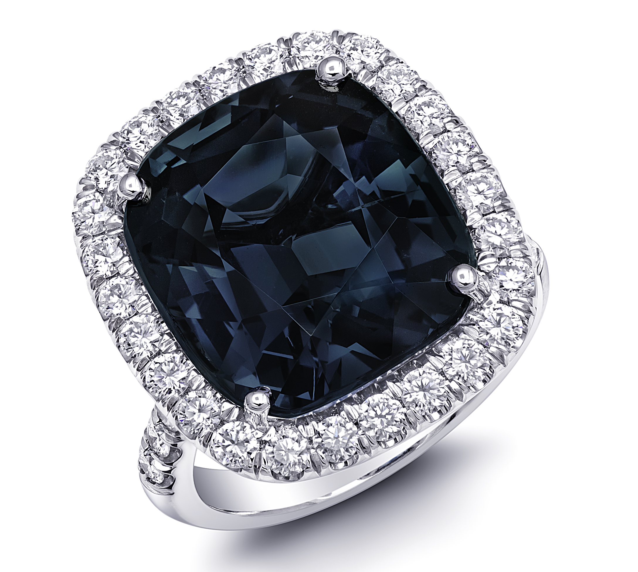 Coast Diamond blue spinel ring | JCK On Your Market