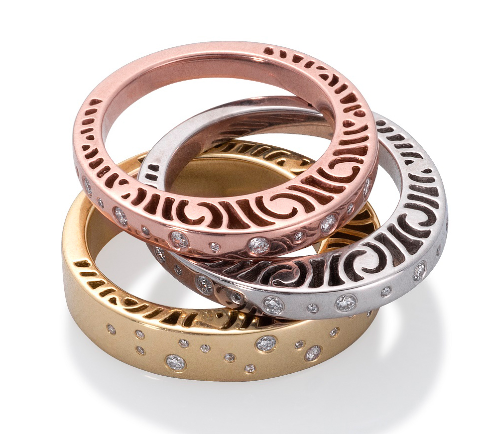Martha Seely Shooting Stars stacking rings | JCK On Your Market