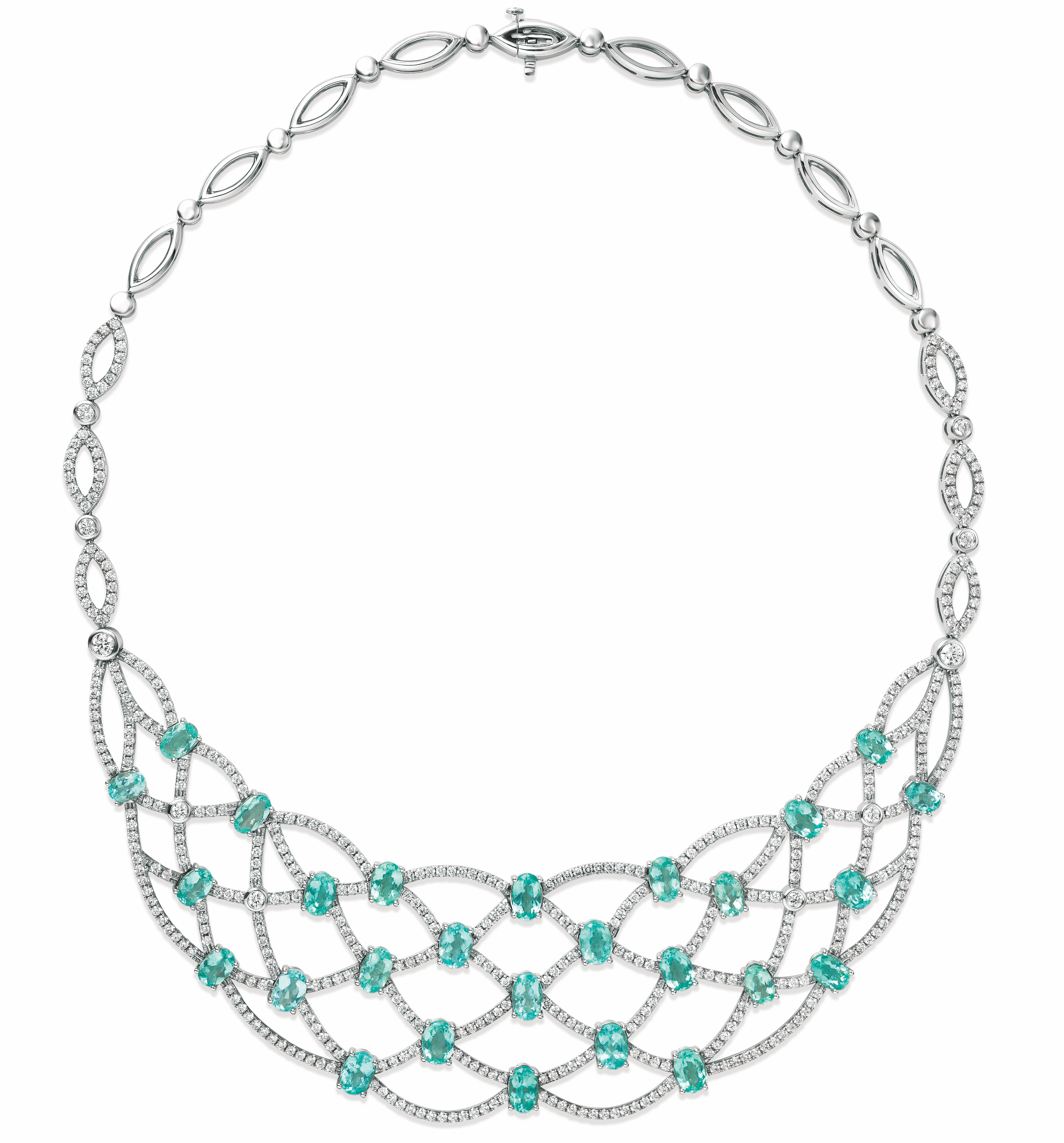 Le Vian Couture Neon Paraiba Tourmaline necklace | JCK On Your Market