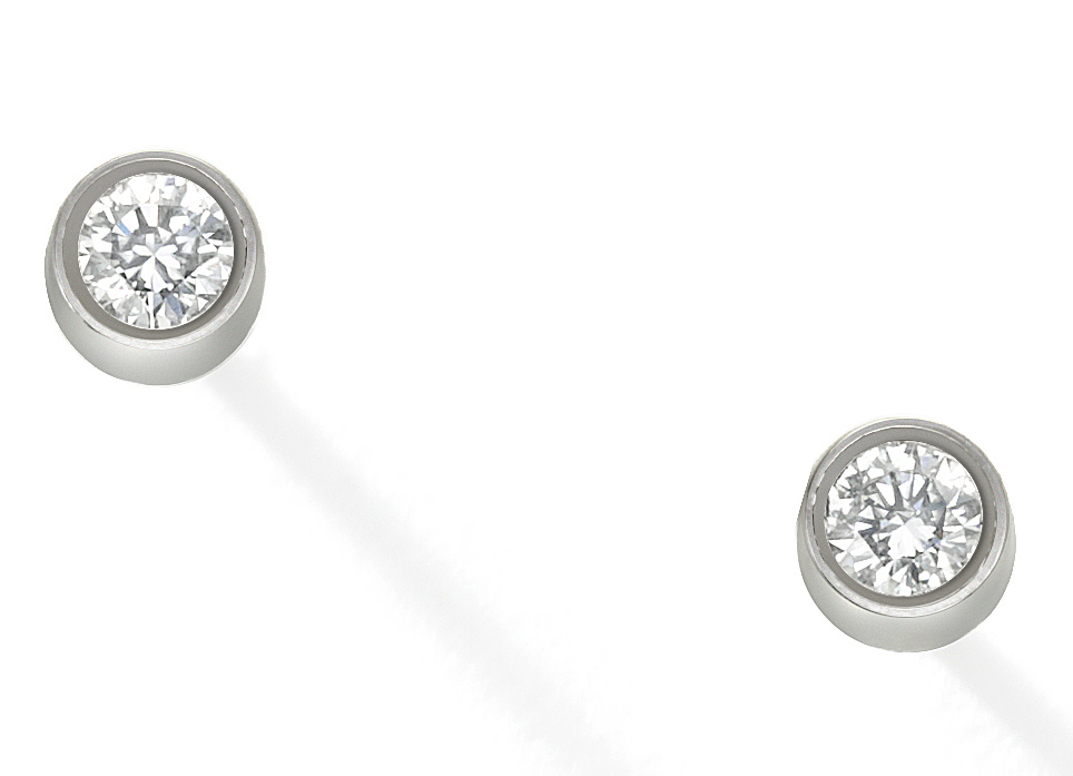 Wendy Brandes Diamond Micro Studs for Tender Ears | JCK On Your Market