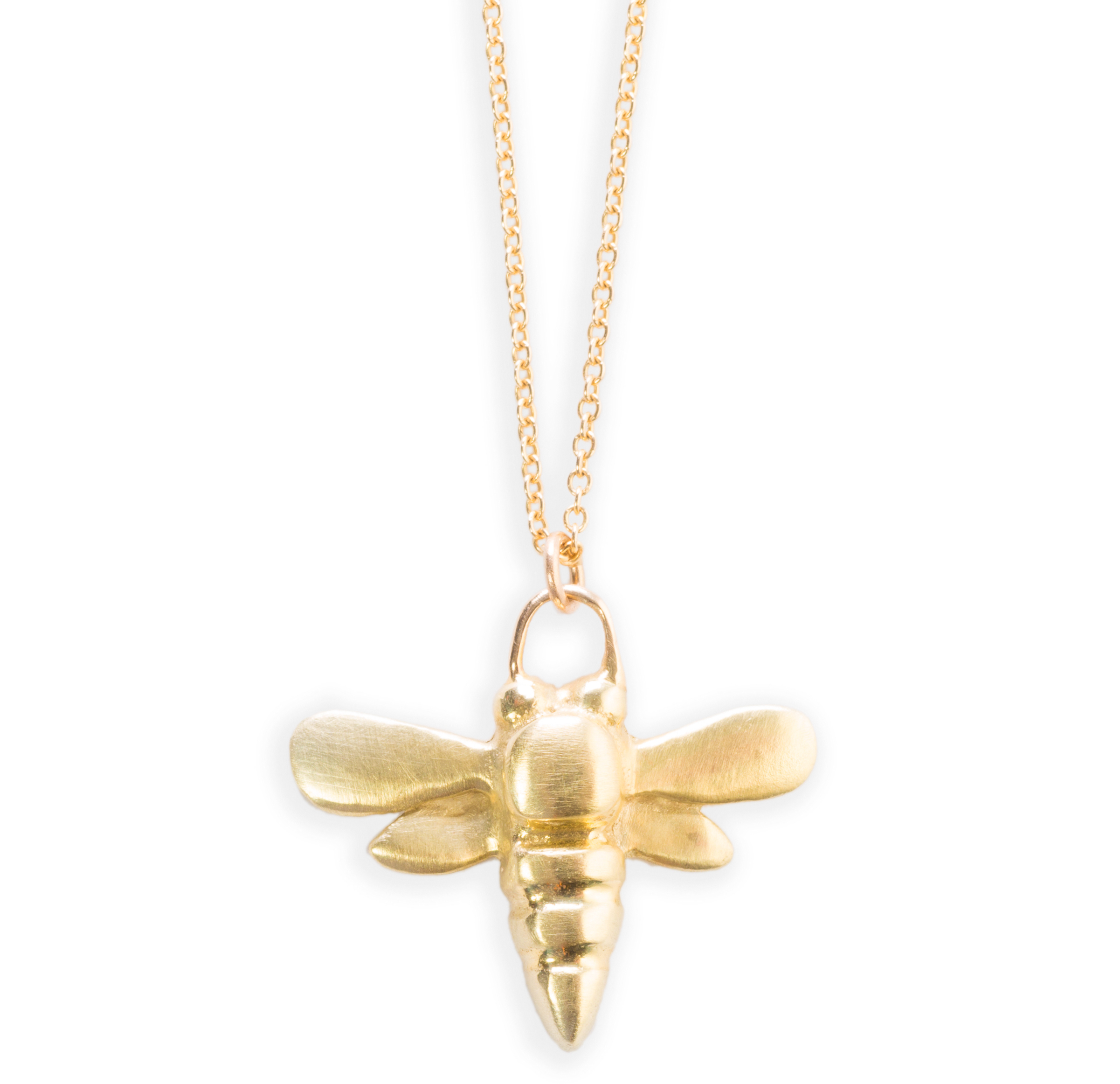 Judi Powers honey bee necklace | JCK On Your Market