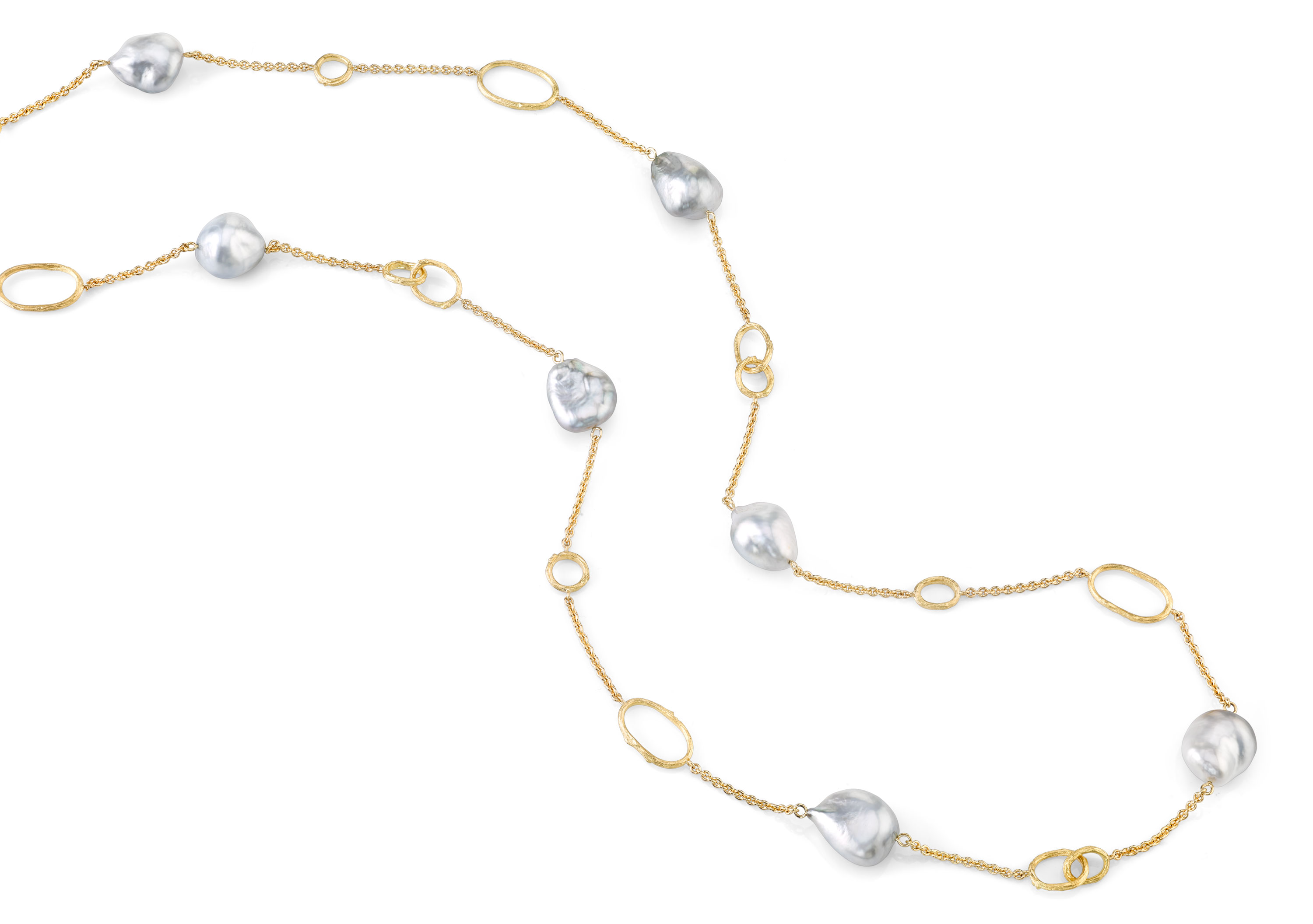Aaron Henry gold and pearl necklace | JCK On Your Market