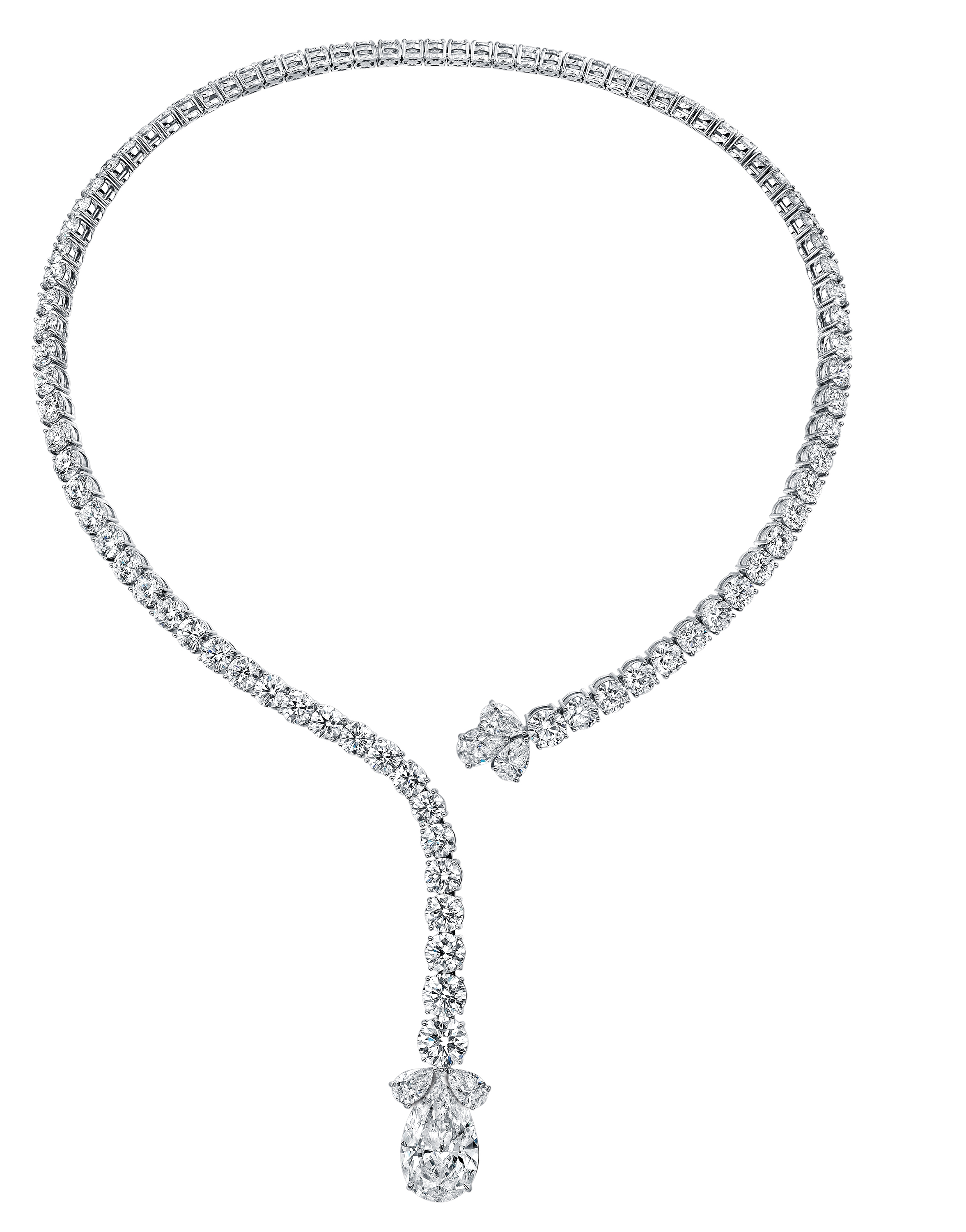 Norman SIlverman diamond collar necklace | JCK On Your Market