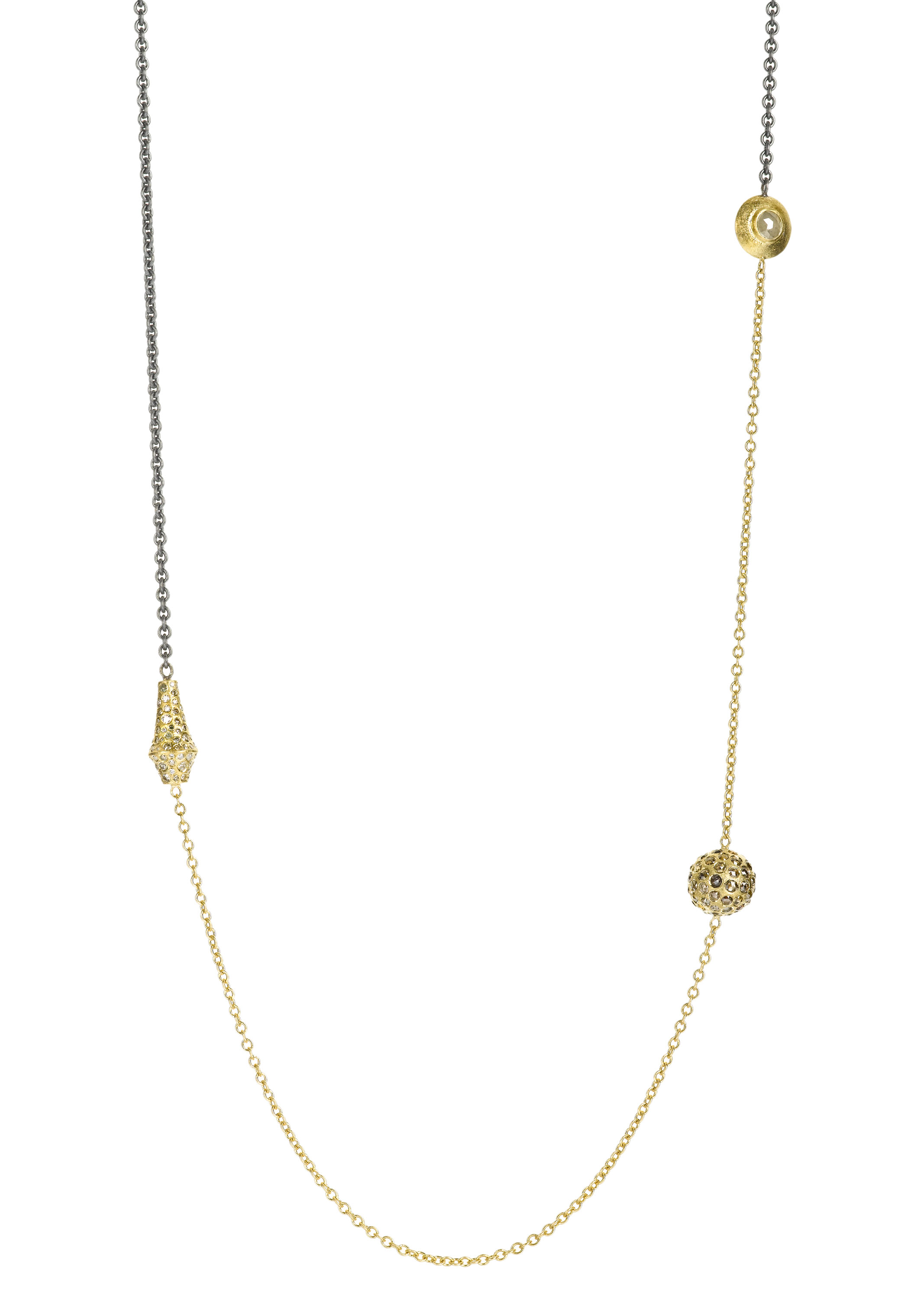 Todd Reed diamond layering necklace | JCK On Your Market