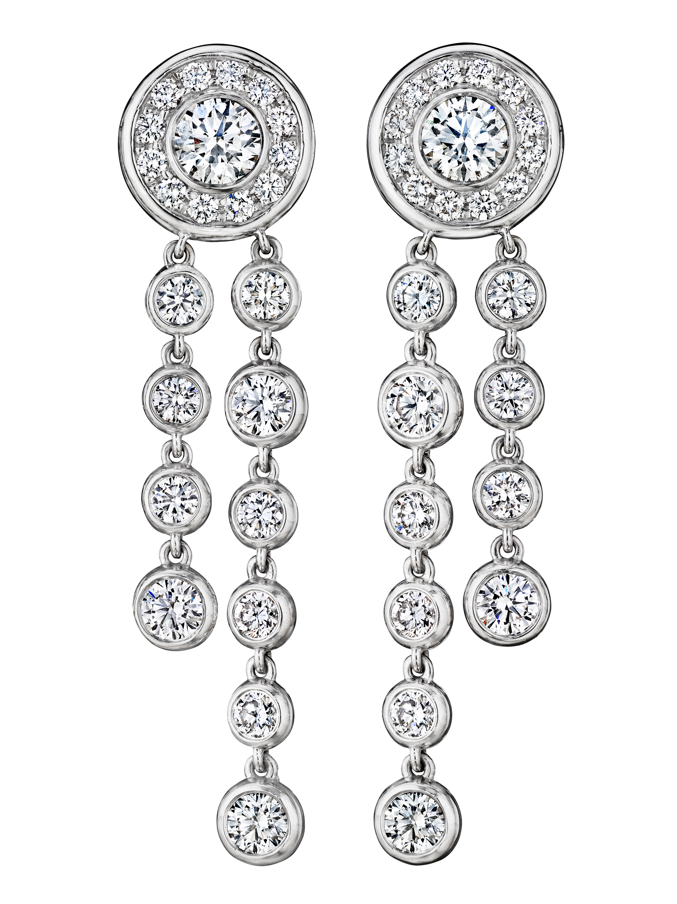 A. Link one-of-a-kind diamond bolo earrings | JCK On Your Market