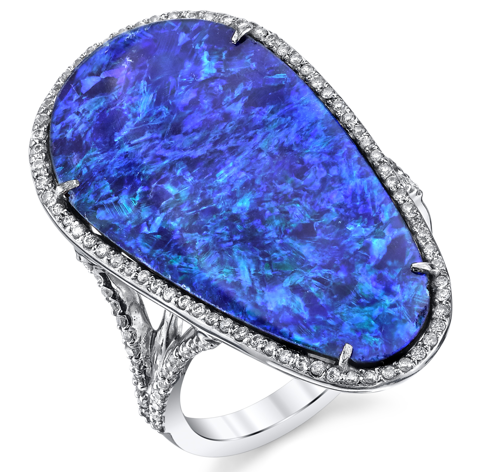 Borgioni opal and diamond ring | JCK On Your Market
