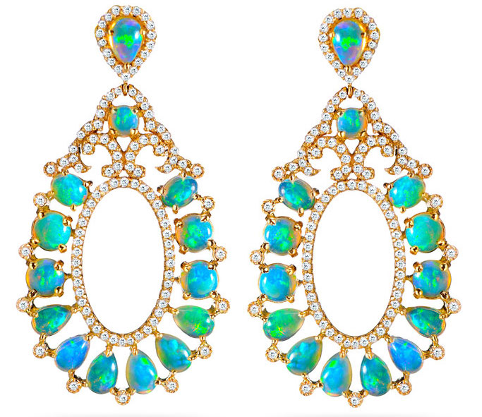 Hari Jewels opal drop earrings | JCK On Your Market