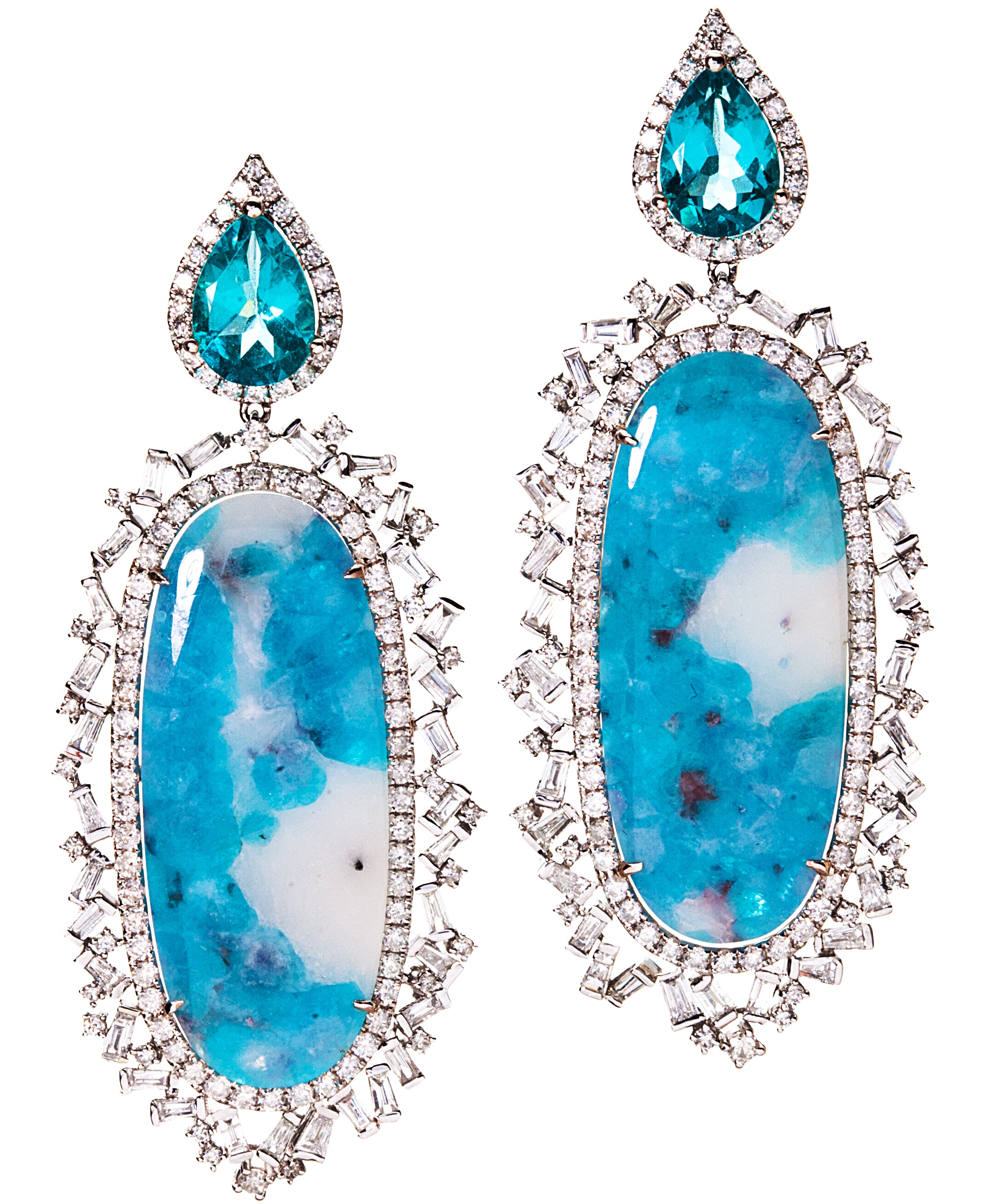 Graziela Gems Paraiba obsession earrings | JCK On Your Market